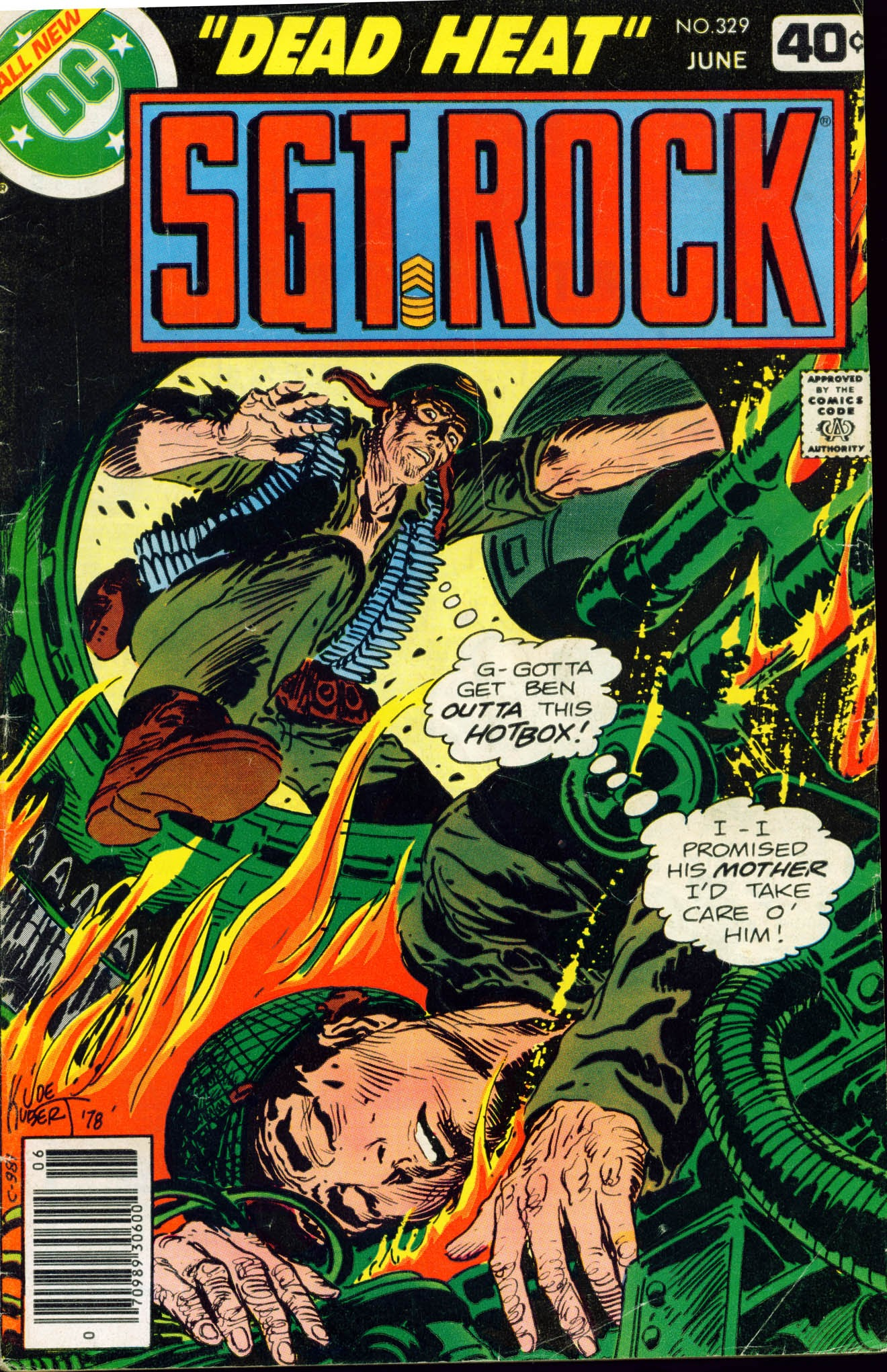 Read online Sgt. Rock comic -  Issue #329 - 1