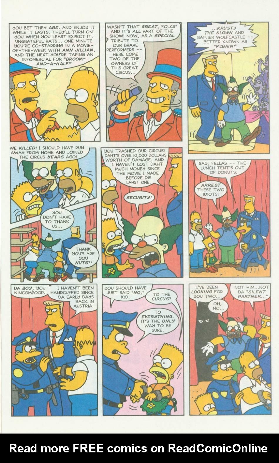 Read online Simpsons Comics comic -  Issue #7 - 20