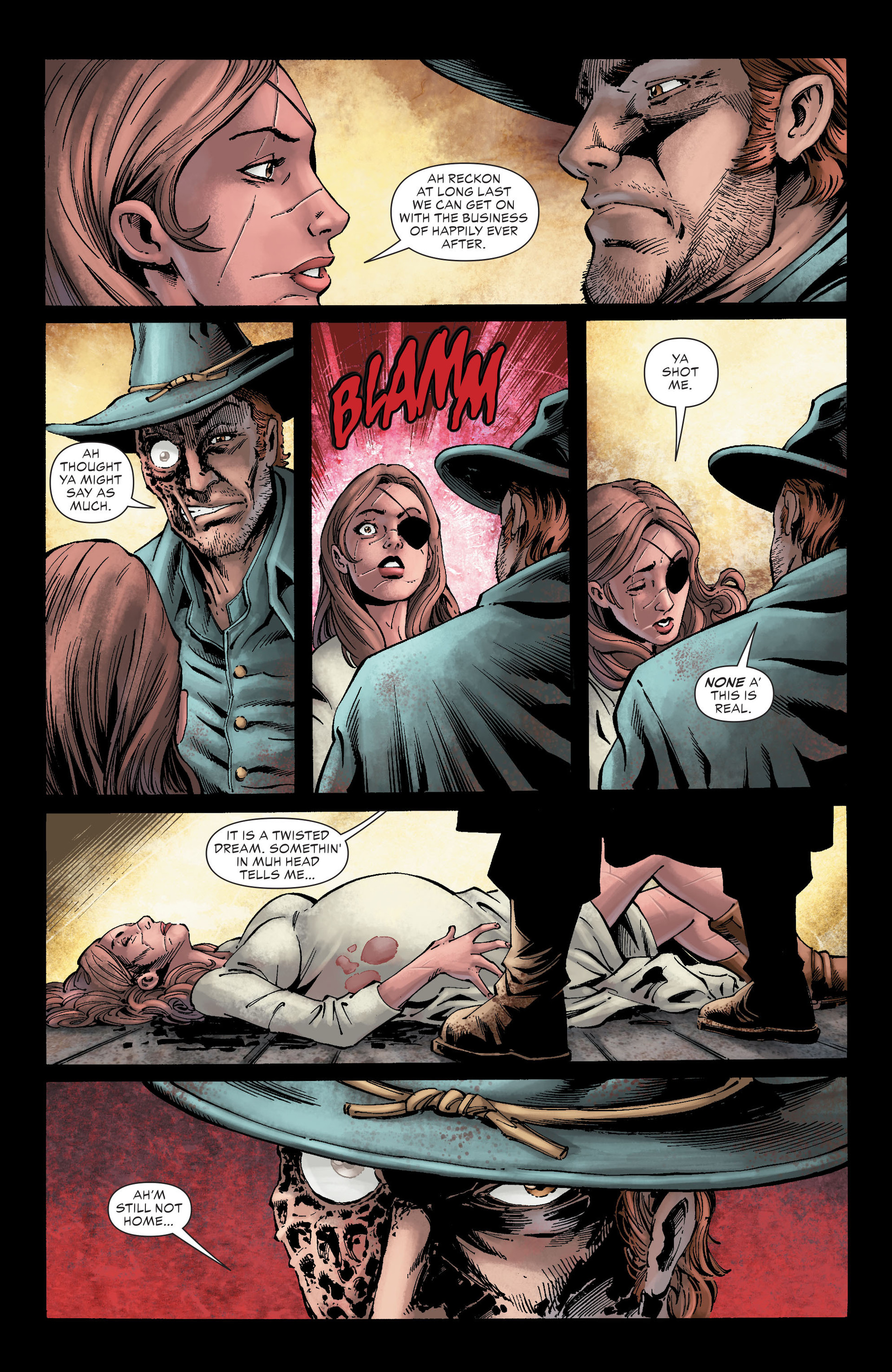 Read online All-Star Western (2011) comic -  Issue #26 - 13