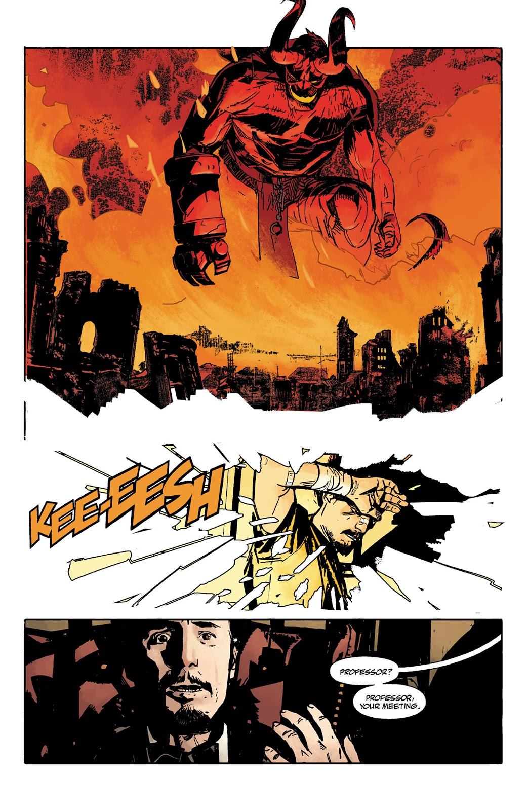 Read online Hellboy and the B.P.R.D. comic -  Issue # _TPB - 11