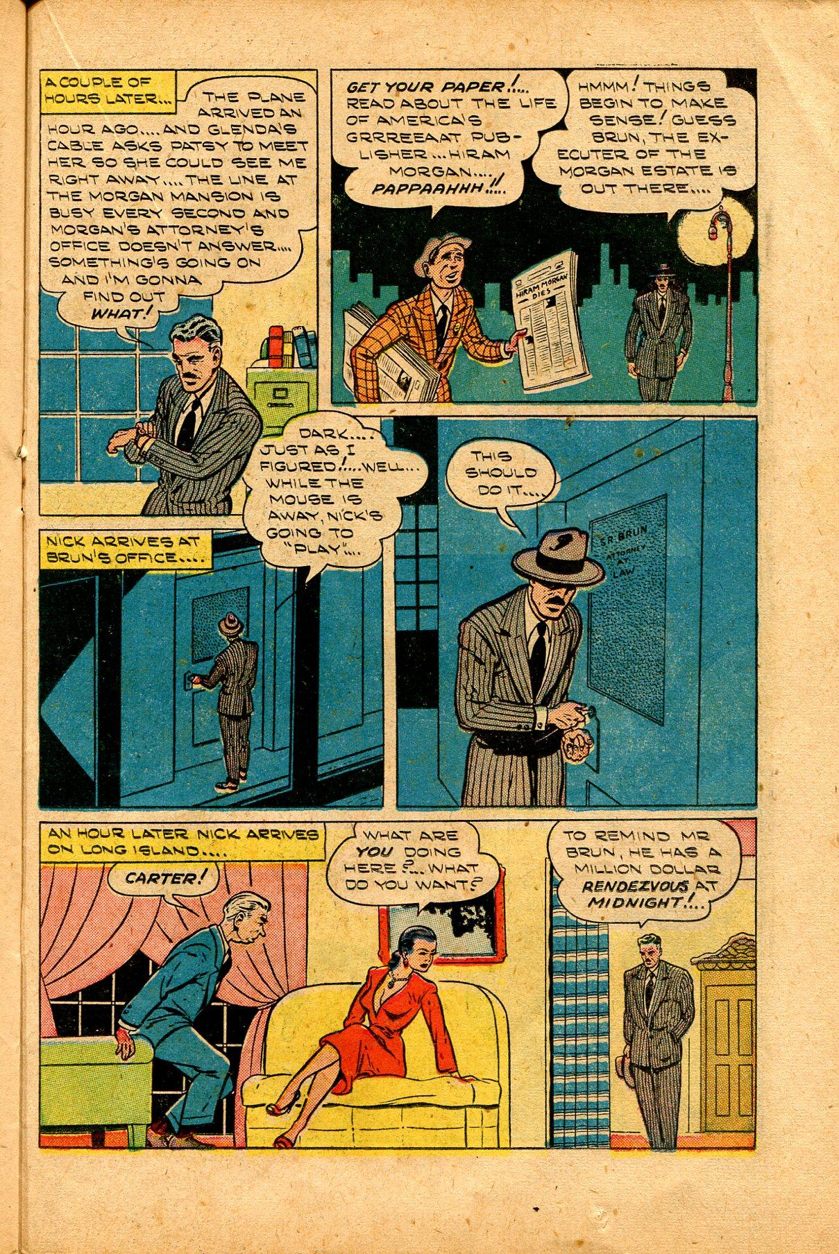 Read online Shadow Comics comic -  Issue #94 - 29