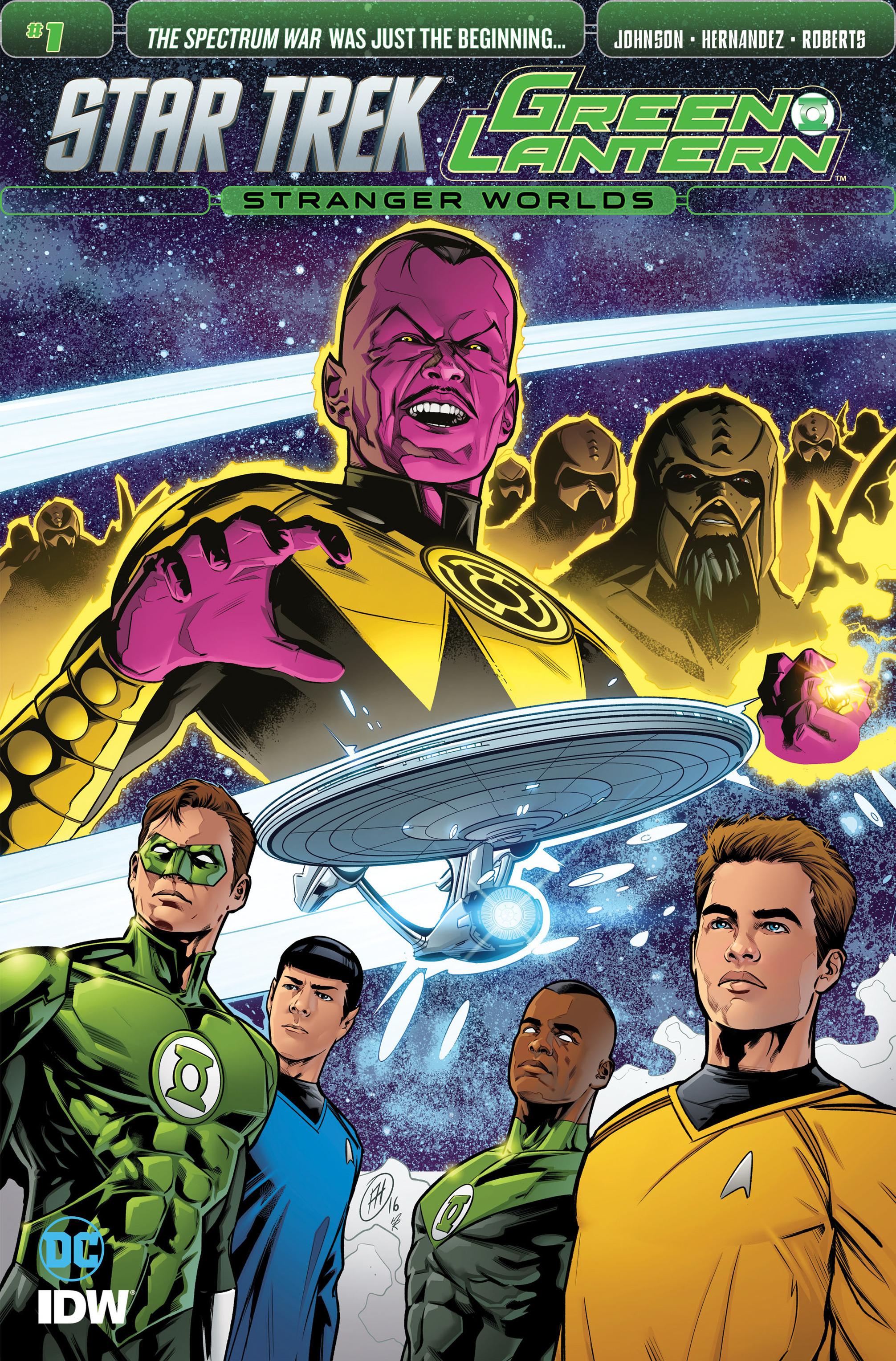 Star Trek/Green Lantern (2016) 1 Page 1