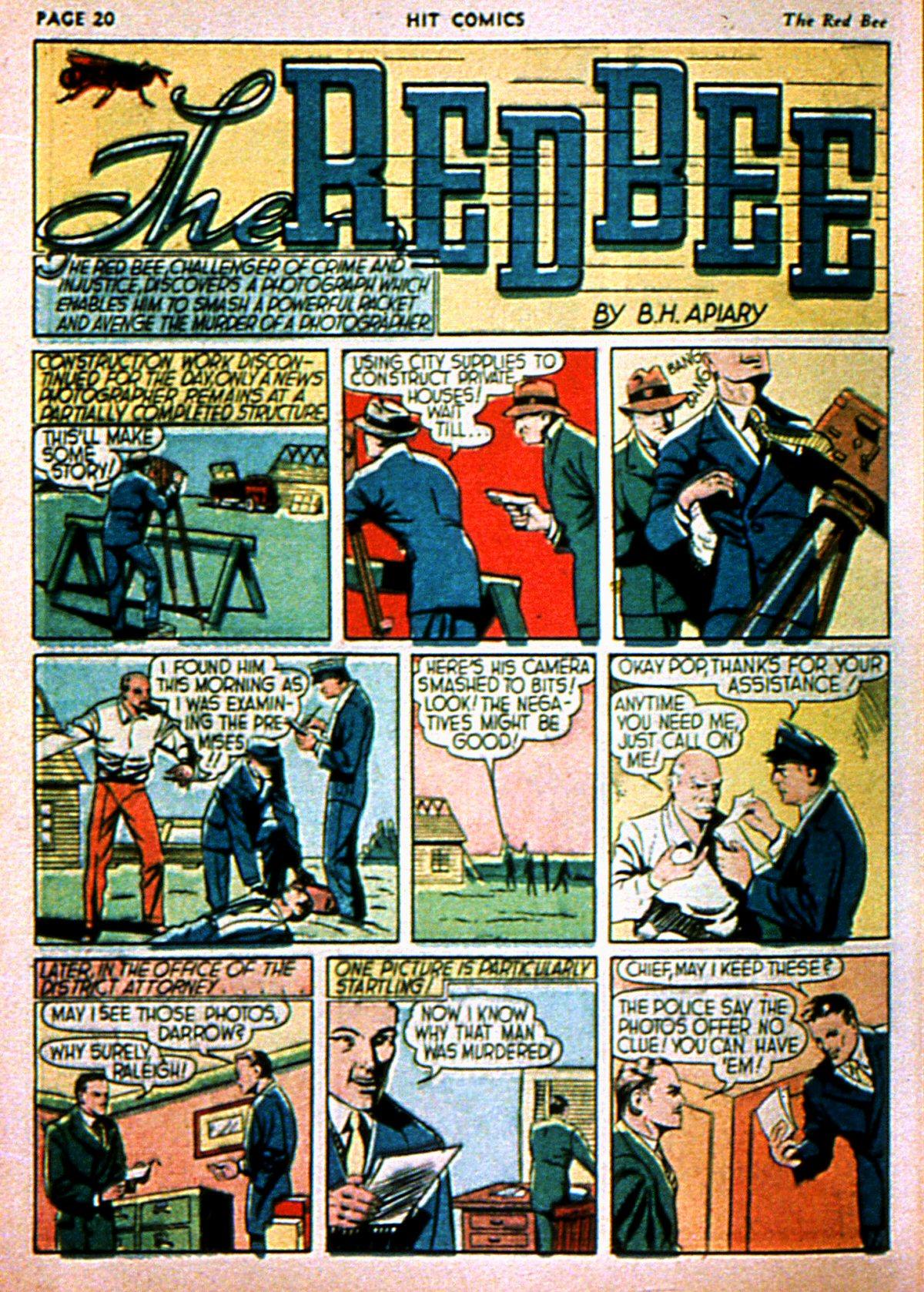 Read online Hit Comics comic -  Issue #3 - 22