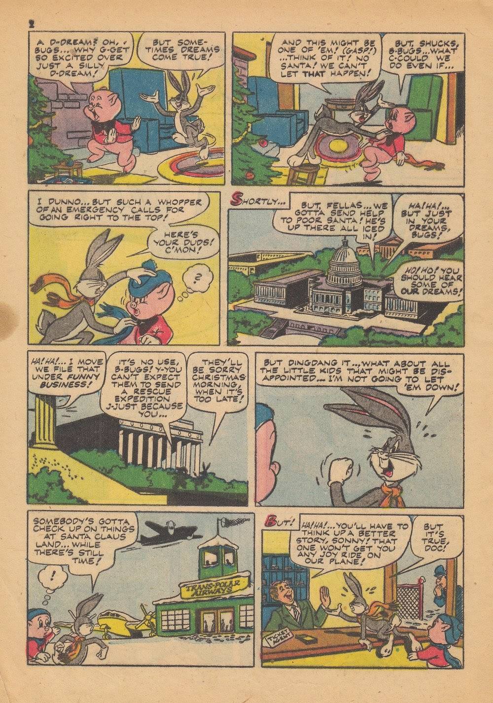 Bugs Bunny's Christmas Funnies issue TPB 4 - Page 4