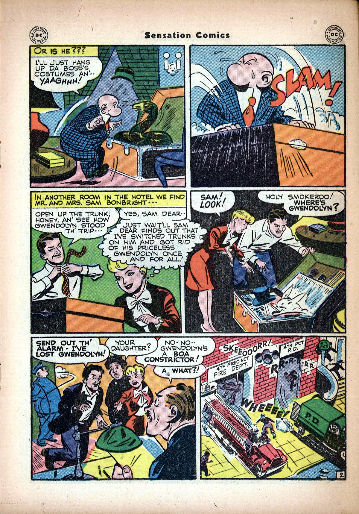 Read online Sensation (Mystery) Comics comic -  Issue #62 - 25