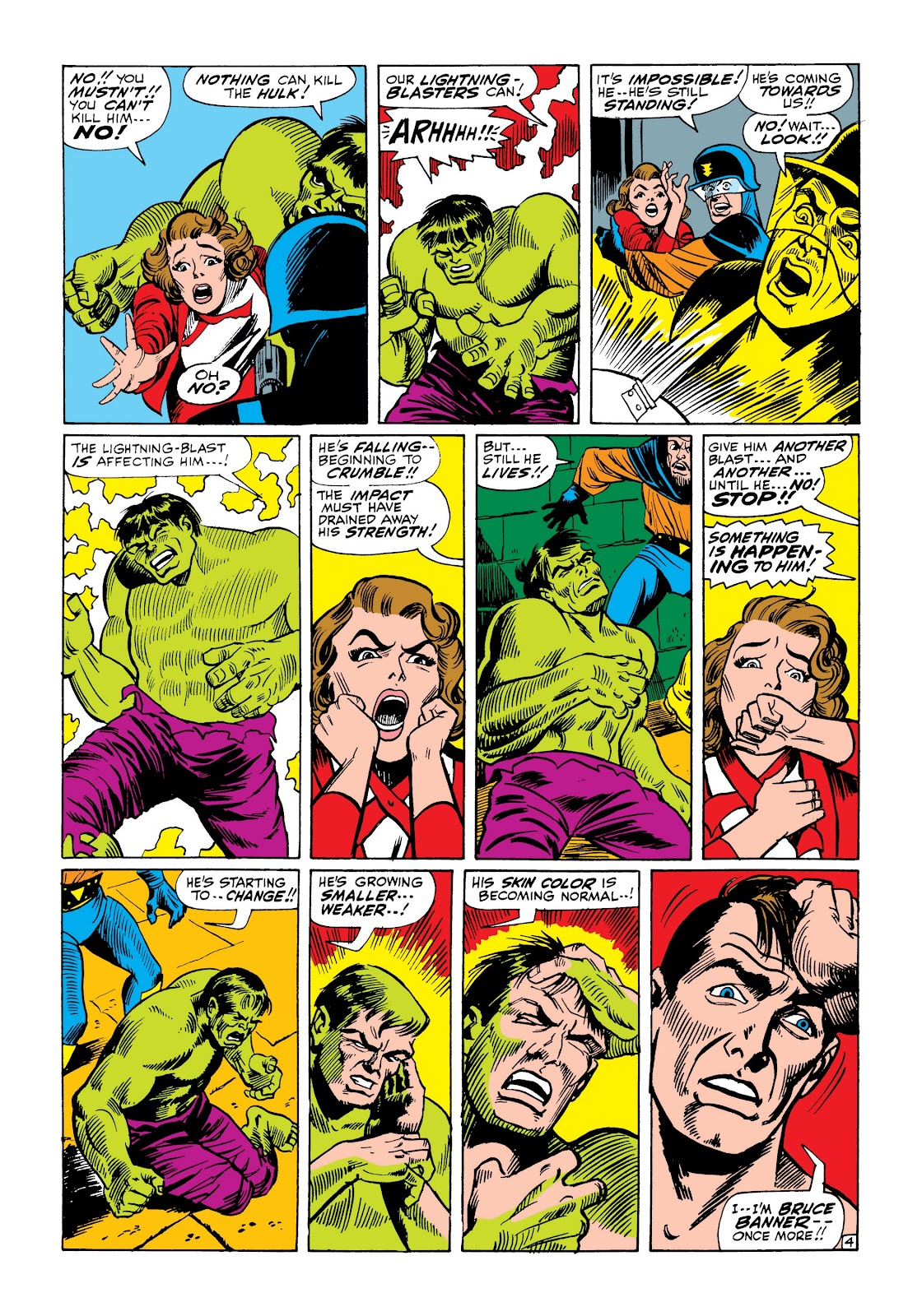 Read online Marvel Masterworks: The Incredible Hulk comic -  Issue # TPB 3 (Part 3) - 20