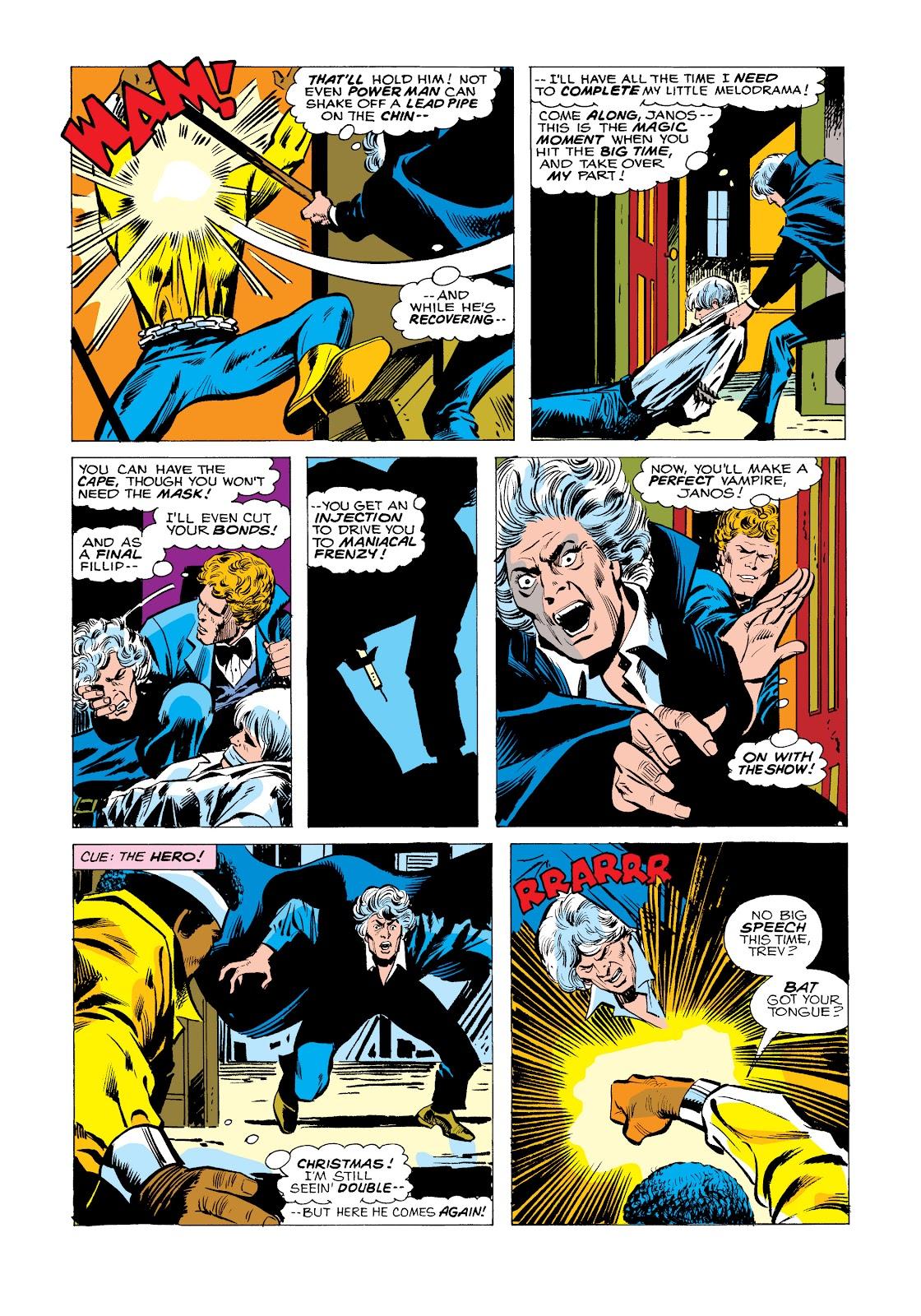 Read online Marvel Masterworks: Luke Cage, Power Man comic -  Issue # TPB 2 (Part 2) - 97