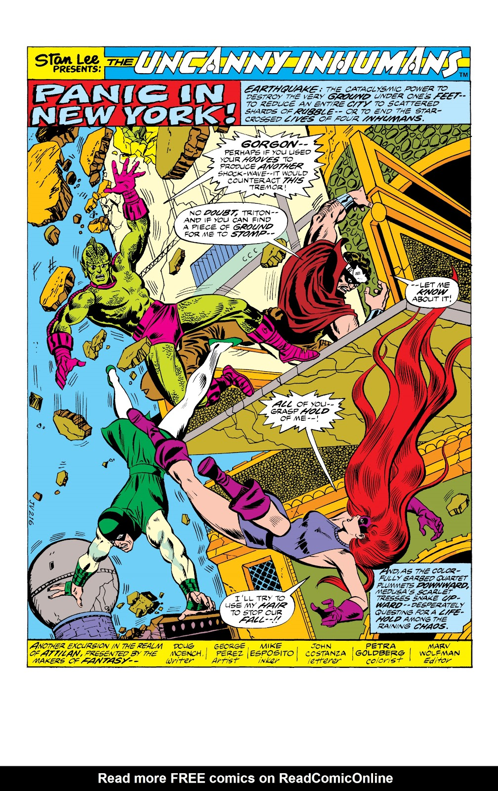 Read online Marvel Masterworks: The Inhumans comic -  Issue # TPB 2 (Part 1) - 47