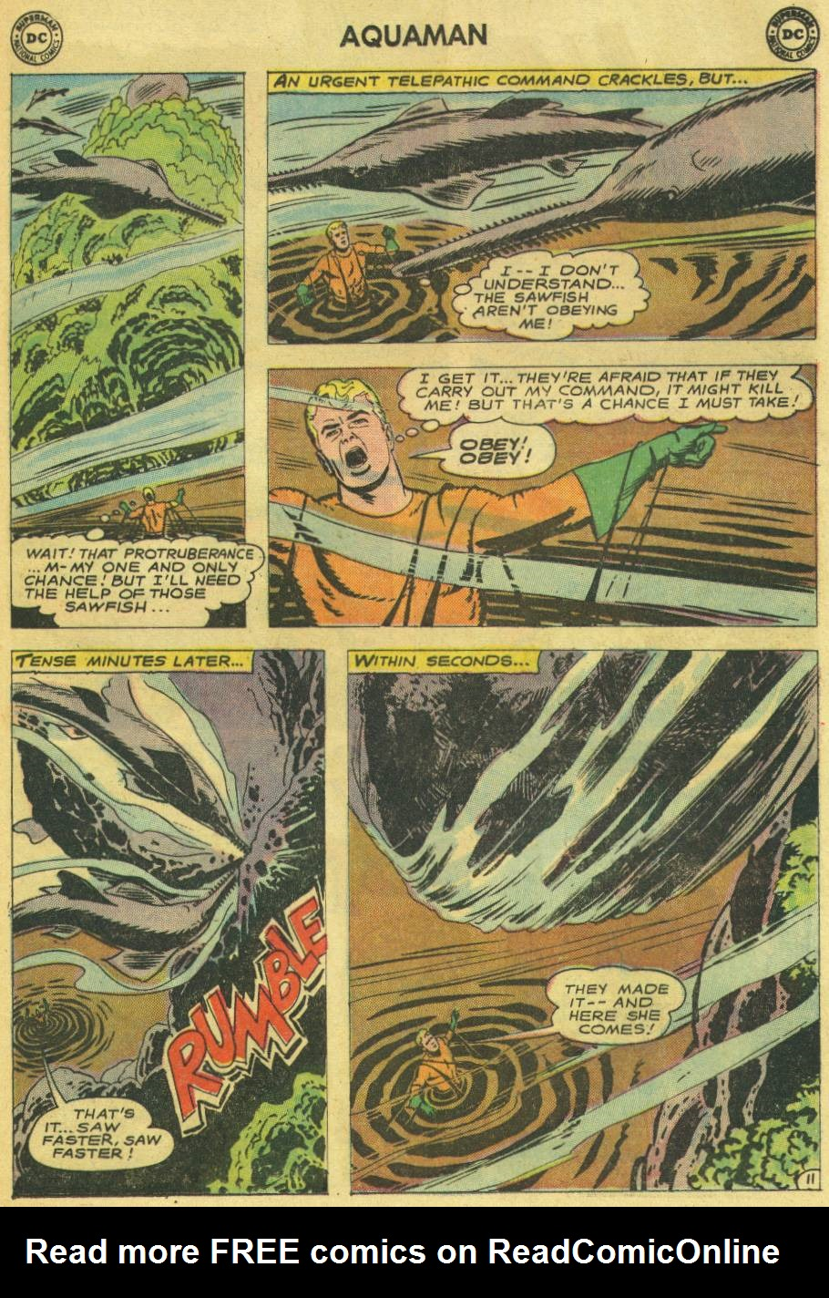 Read online Aquaman (1962) comic -  Issue #14 - 29