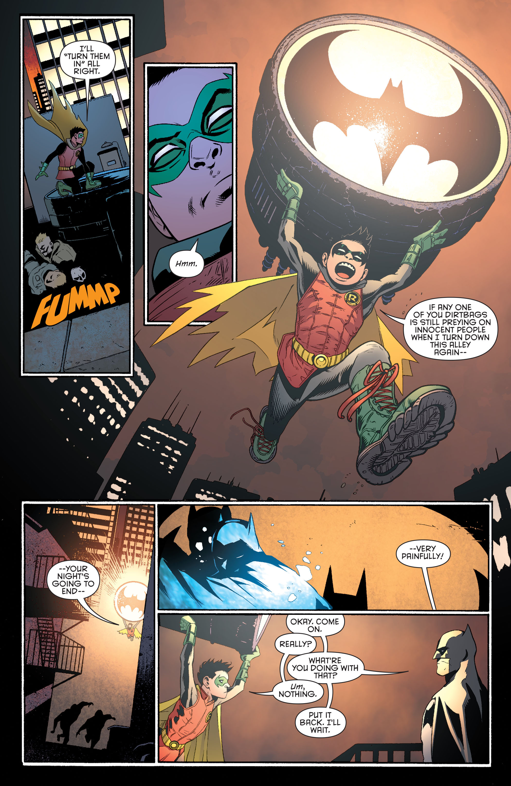 Read online Batman and Robin (2011) comic -  Issue #39 - 15