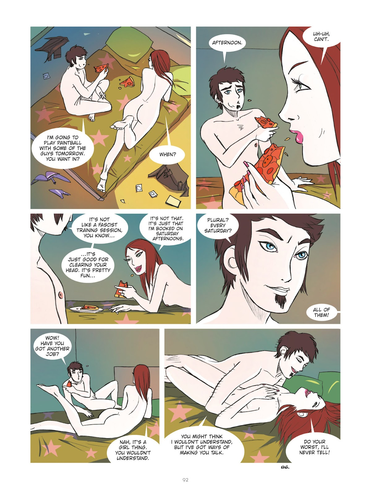 Read online Diary of A Femen comic -  Issue # TPB - 94