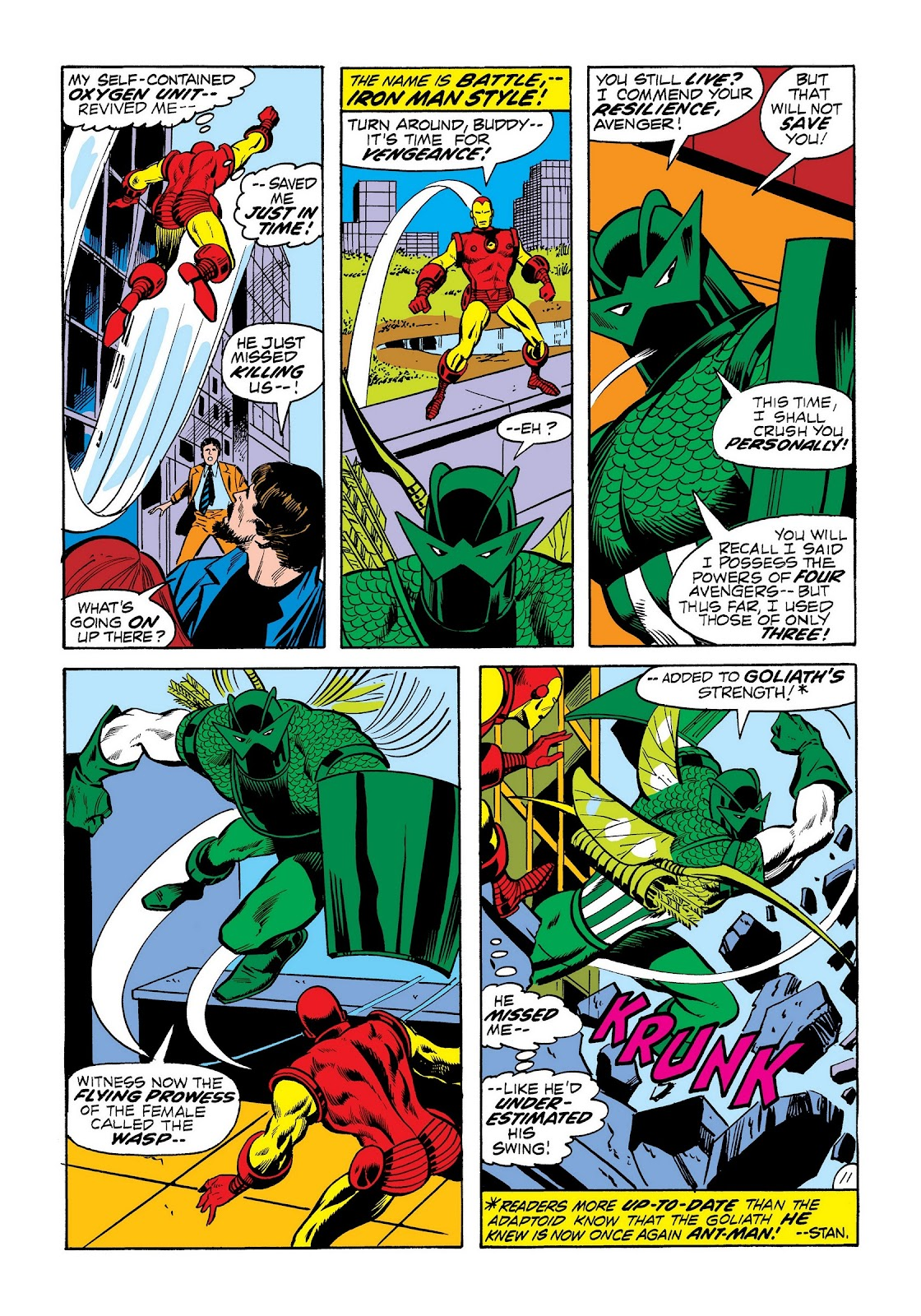 Read online Marvel Masterworks: The Invincible Iron Man comic -  Issue # TPB 8 (Part 3) - 21