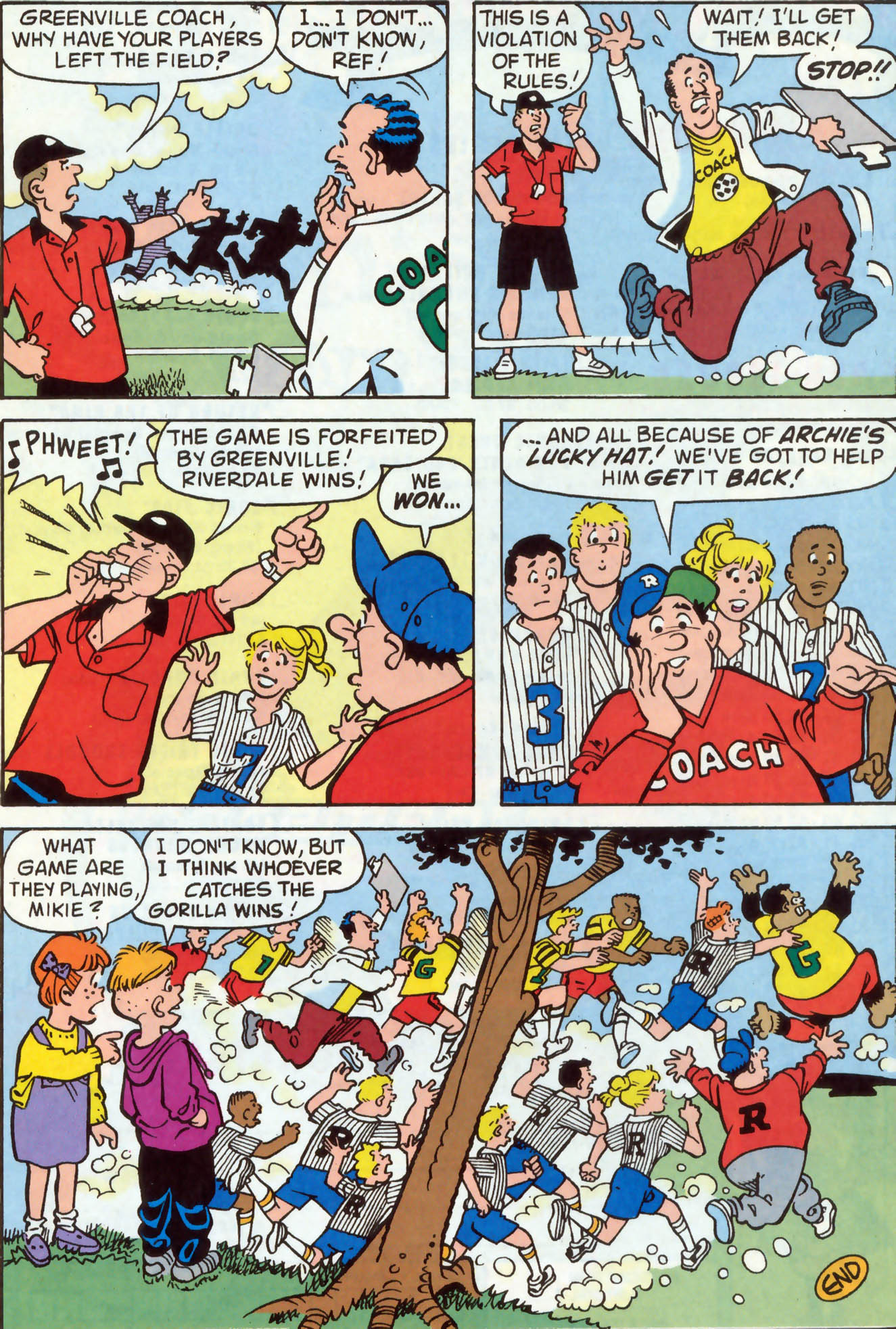 Read online Archie (1960) comic -  Issue #477 - 25