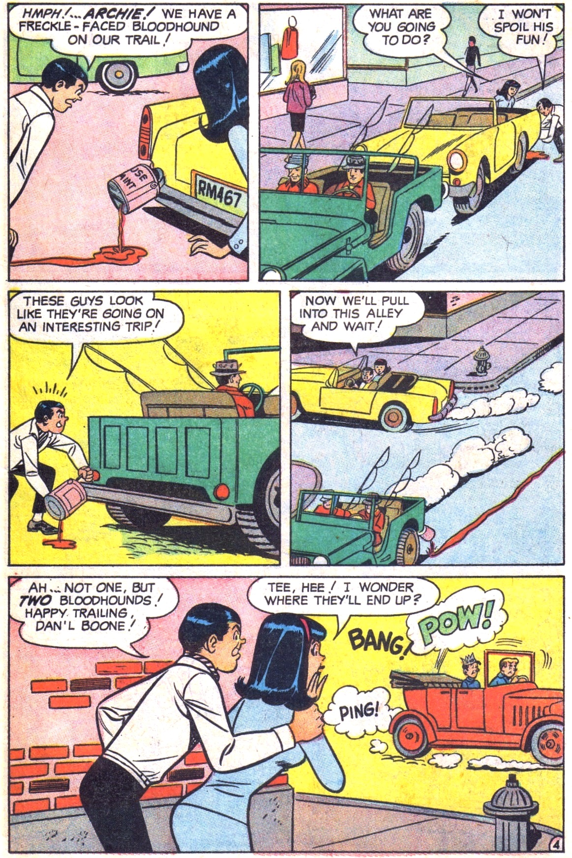 Read online Archie (1960) comic -  Issue #179 - 31