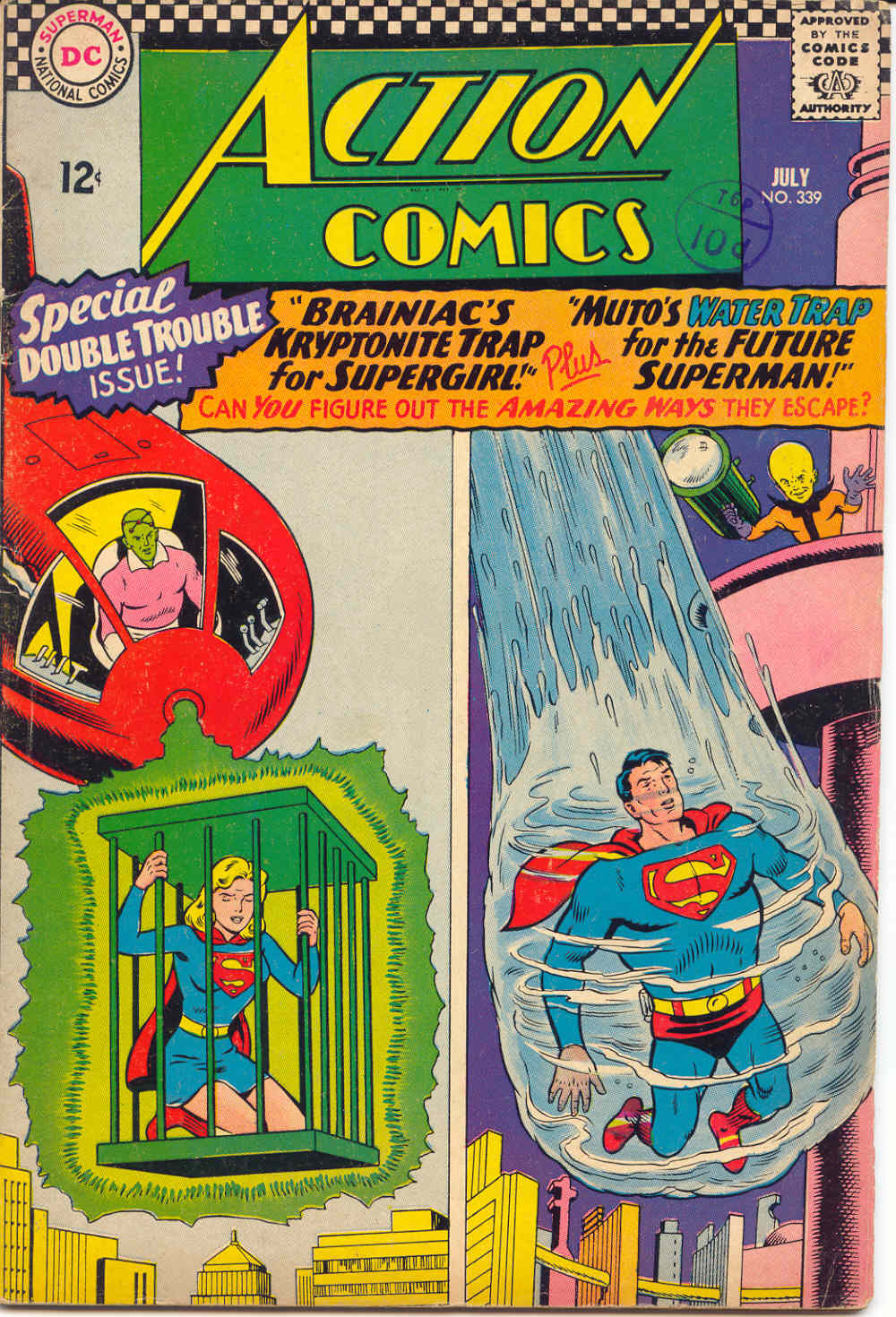 Read online Action Comics (1938) comic -  Issue #339 - 1