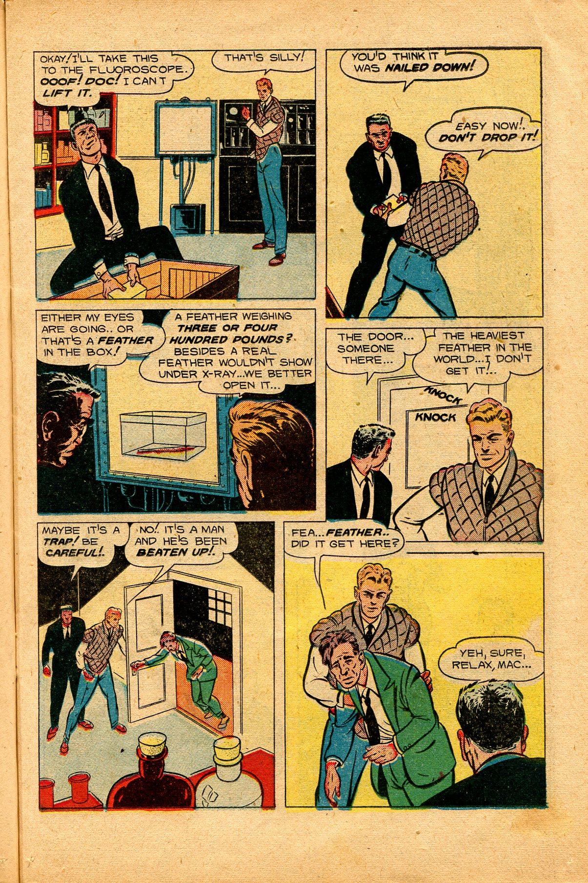 Read online Shadow Comics comic -  Issue #94 - 17