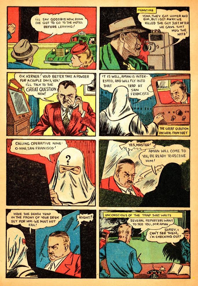 Read online Amazing Man Comics comic -  Issue #12 - 6