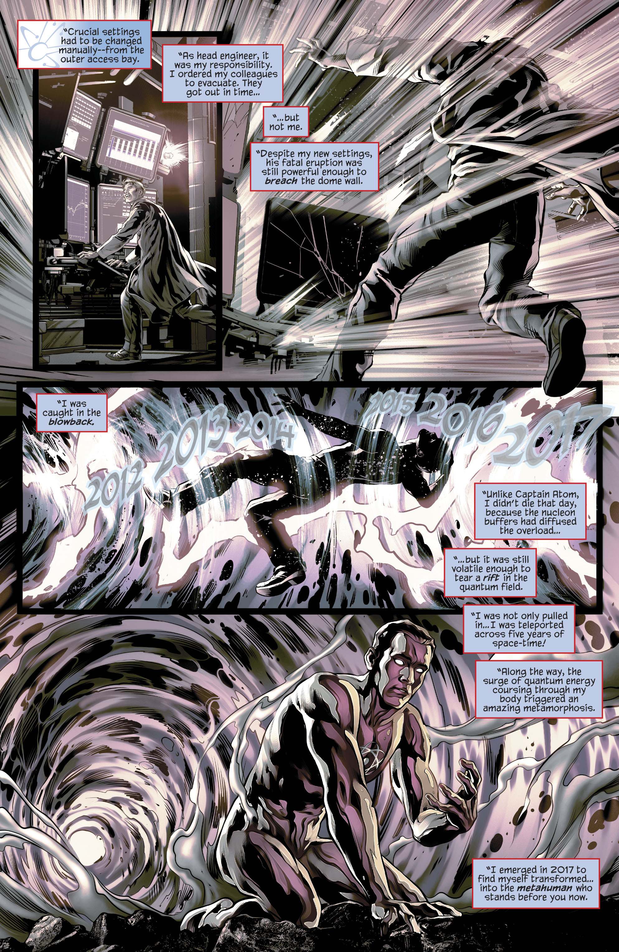 Read online The Fall and Rise of Captain Atom comic -  Issue #4 - 4
