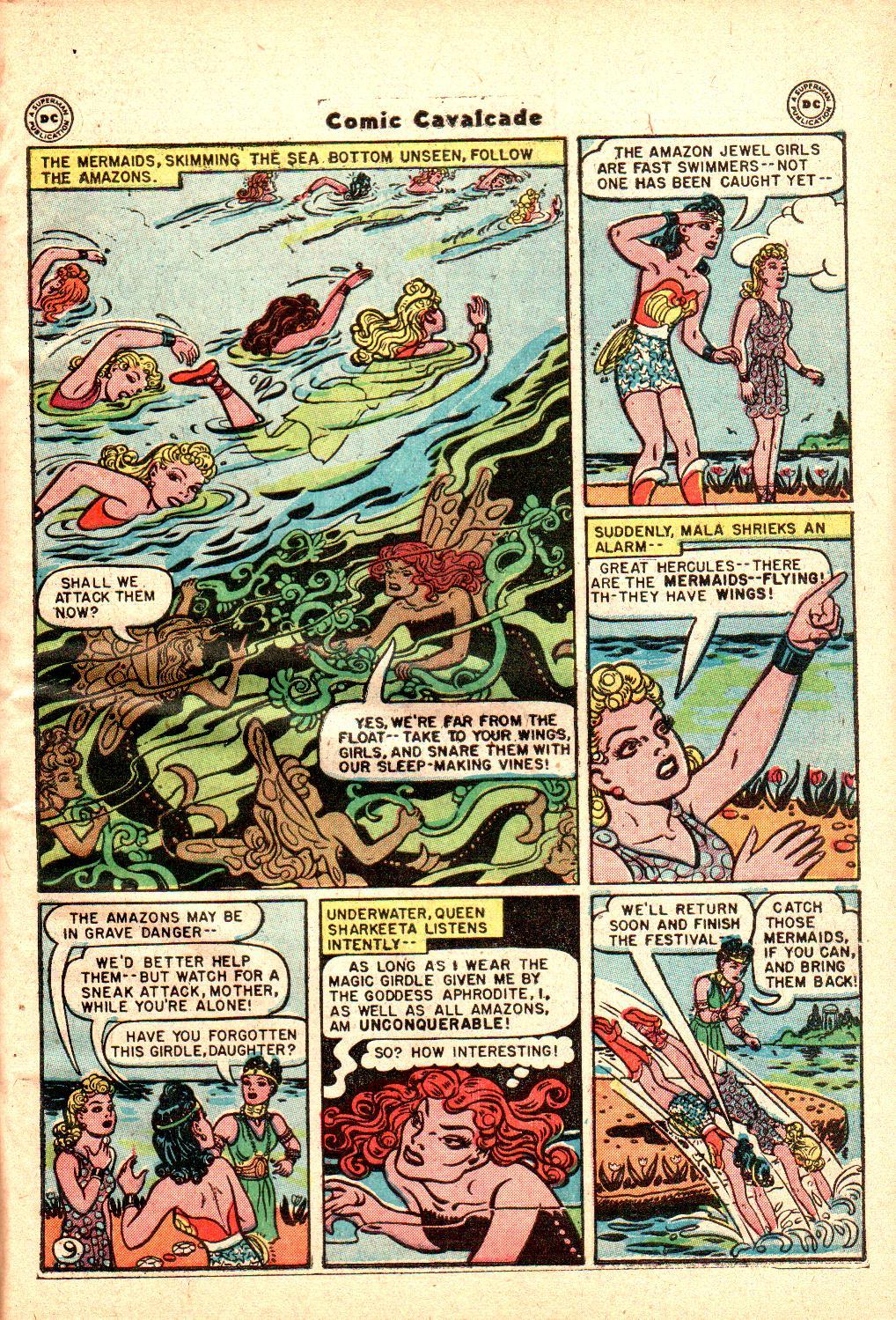 Comic Cavalcade issue 21 - Page 11