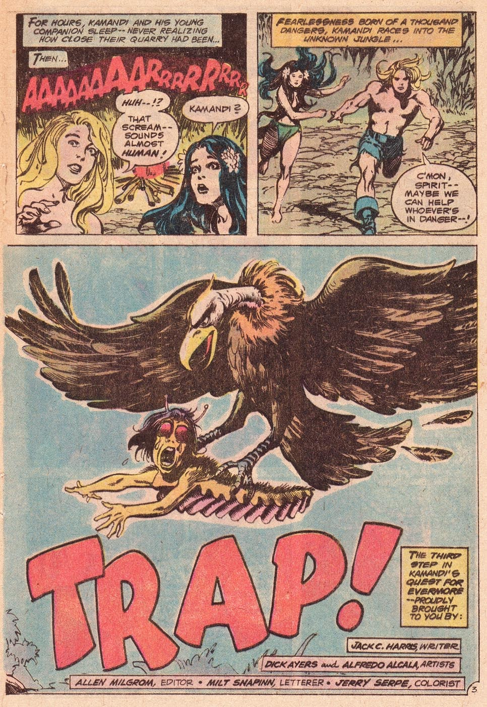 Kamandi, The Last Boy On Earth issue 54 - Page 5