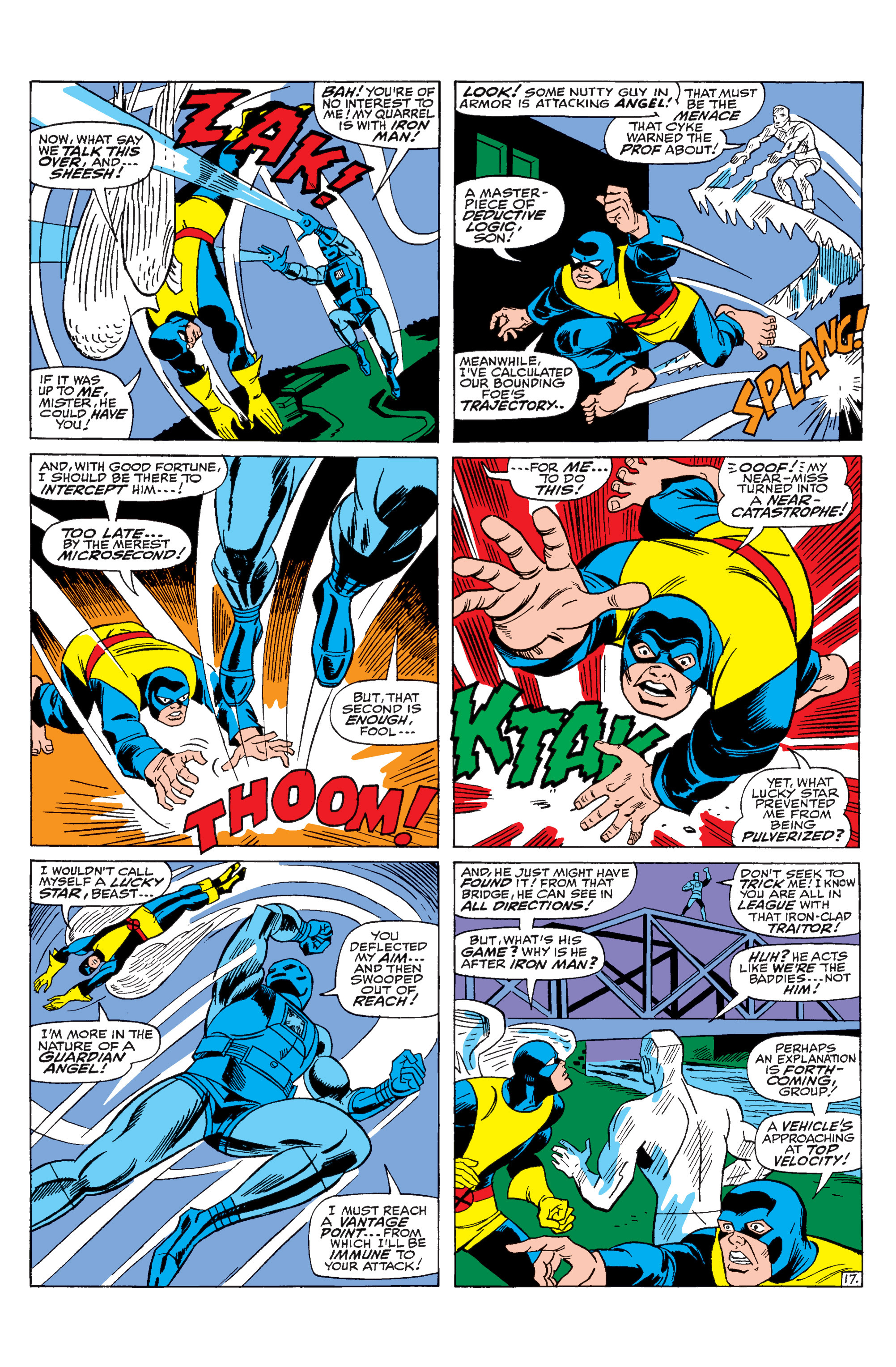 Read online Uncanny X-Men (1963) comic -  Issue #31 - 18