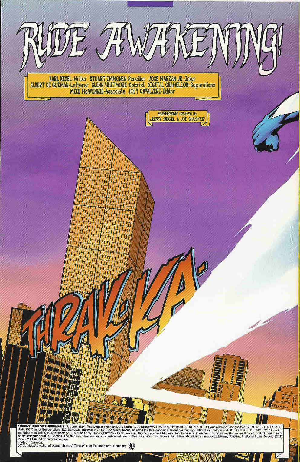 Read online Adventures of Superman (1987) comic -  Issue #547 - 3