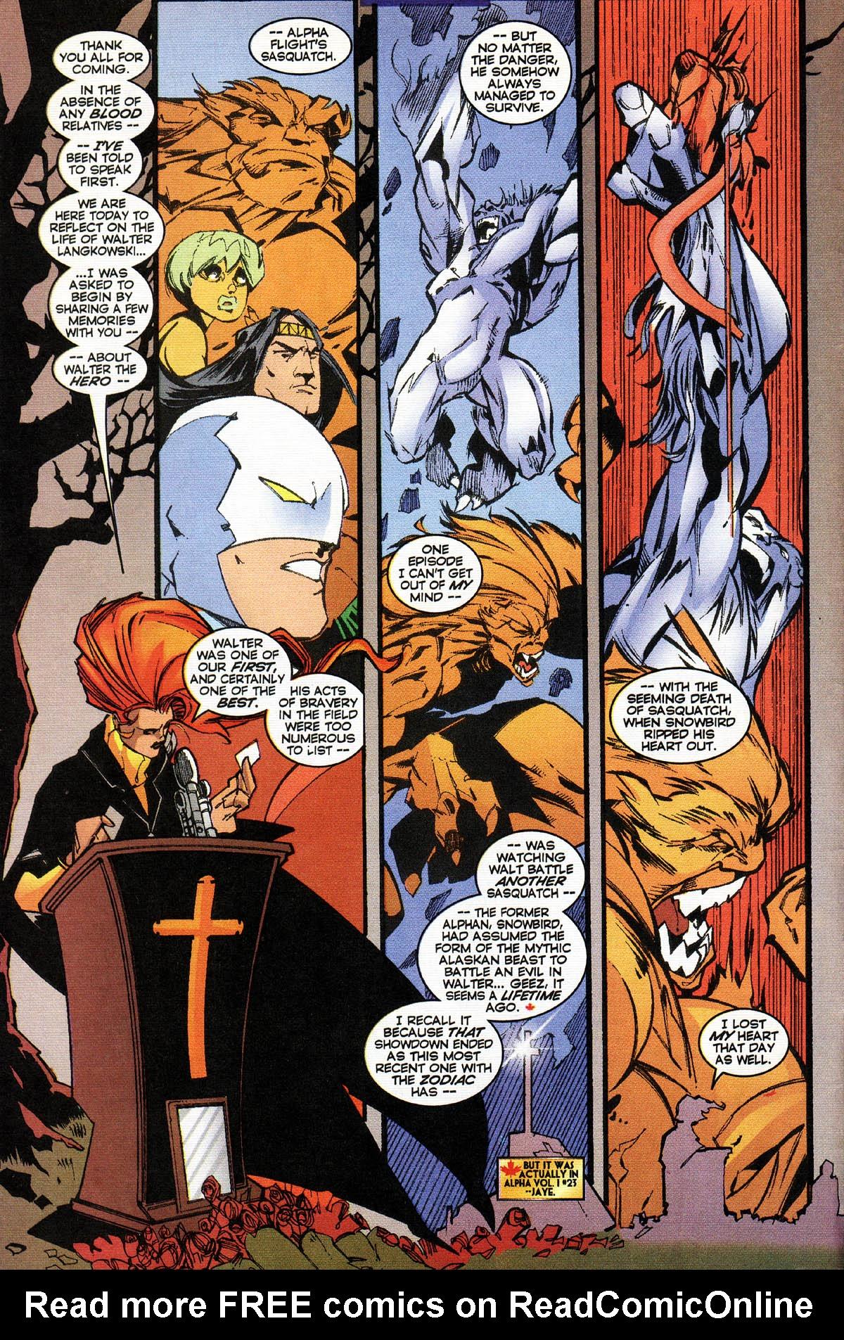 Read online Alpha Flight (1997) comic -  Issue #14 - 11