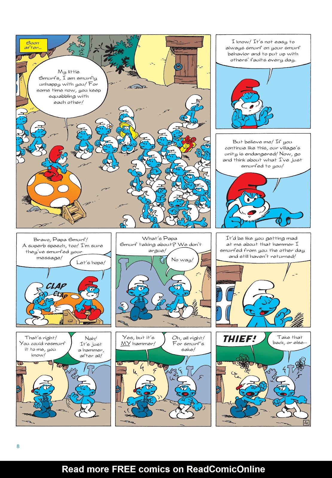 Read online The Smurfs comic -  Issue #22 - 9