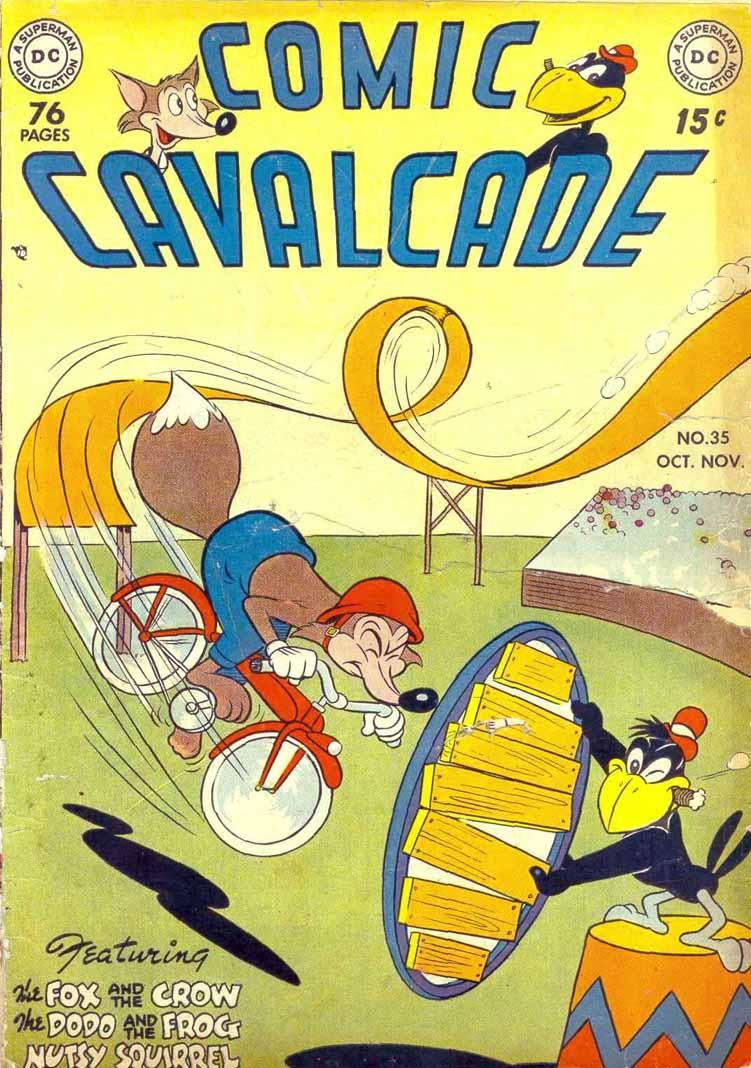 Comic Cavalcade issue 35 - Page 1