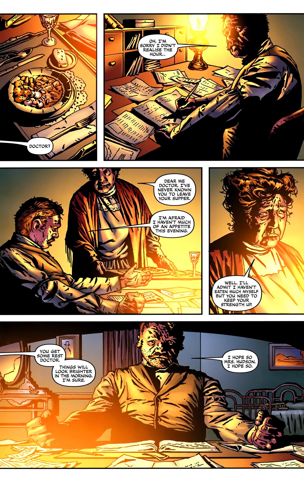 Read online Sherlock Holmes (2009) comic -  Issue #2 - 12