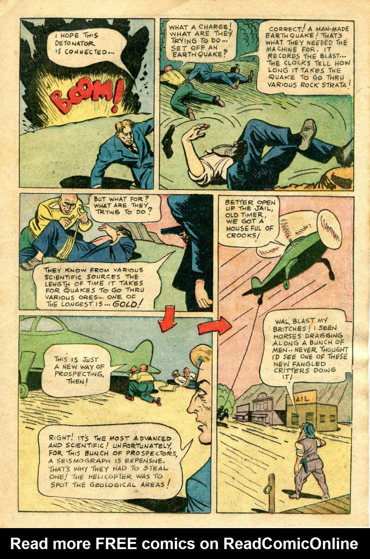 Read online Shadow Comics comic -  Issue #65 - 25