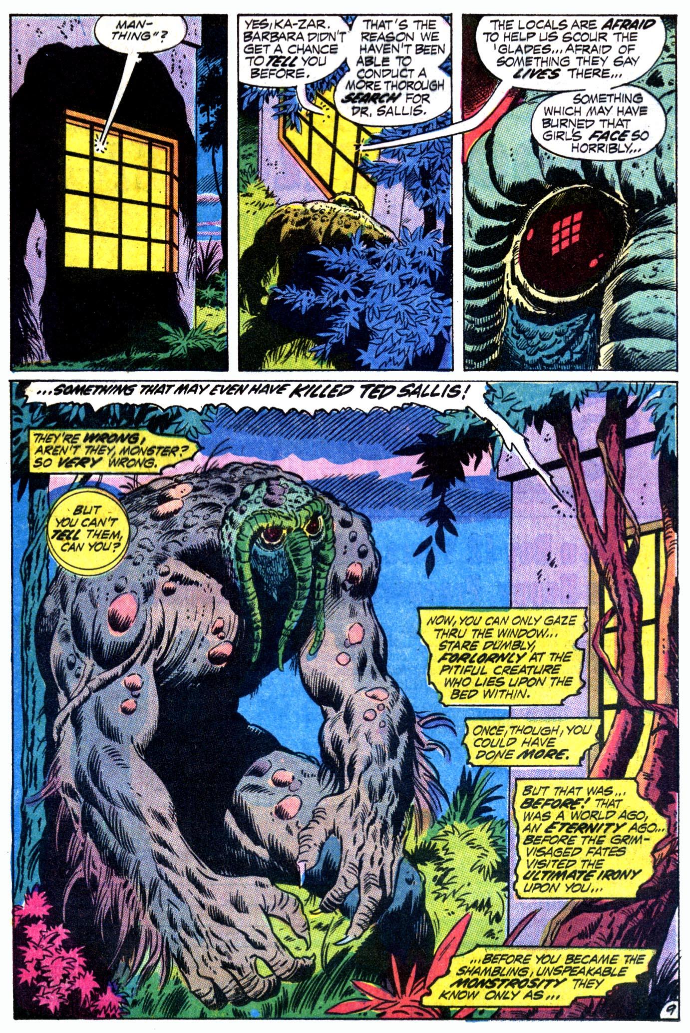 Read online Astonishing Tales (1970) comic -  Issue #12 - 10