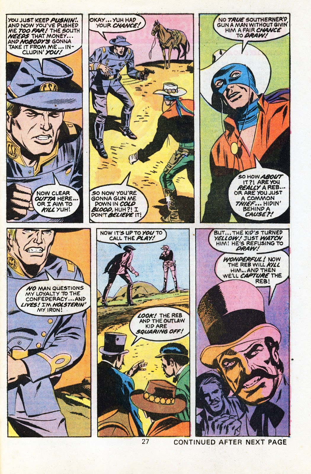 The Outlaw Kid (1970) issue 30 - Page 29