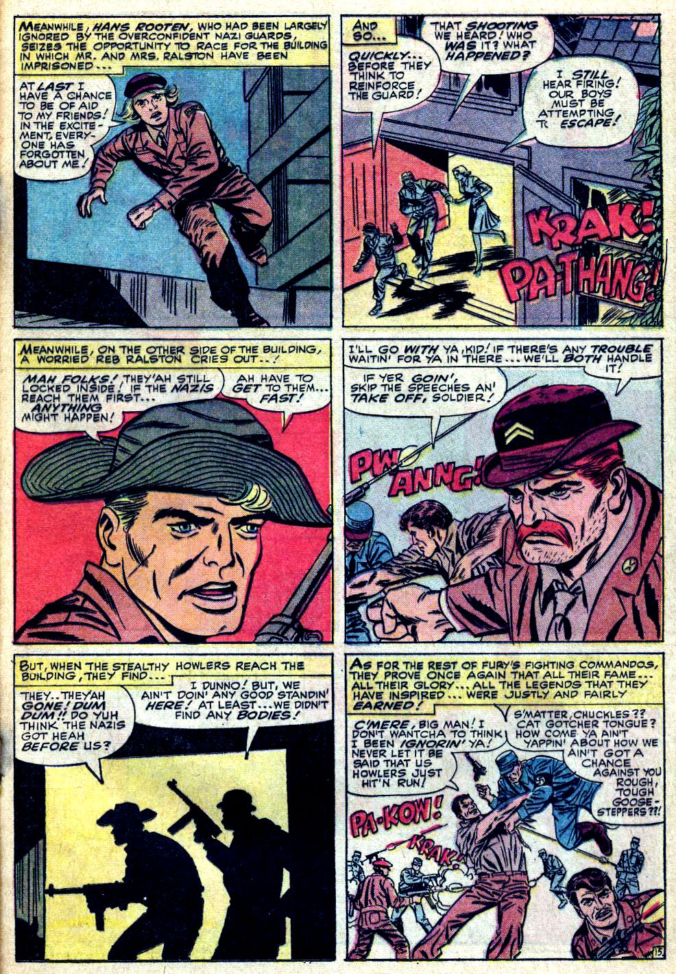 Read online Sgt. Fury comic -  Issue #24 - 21