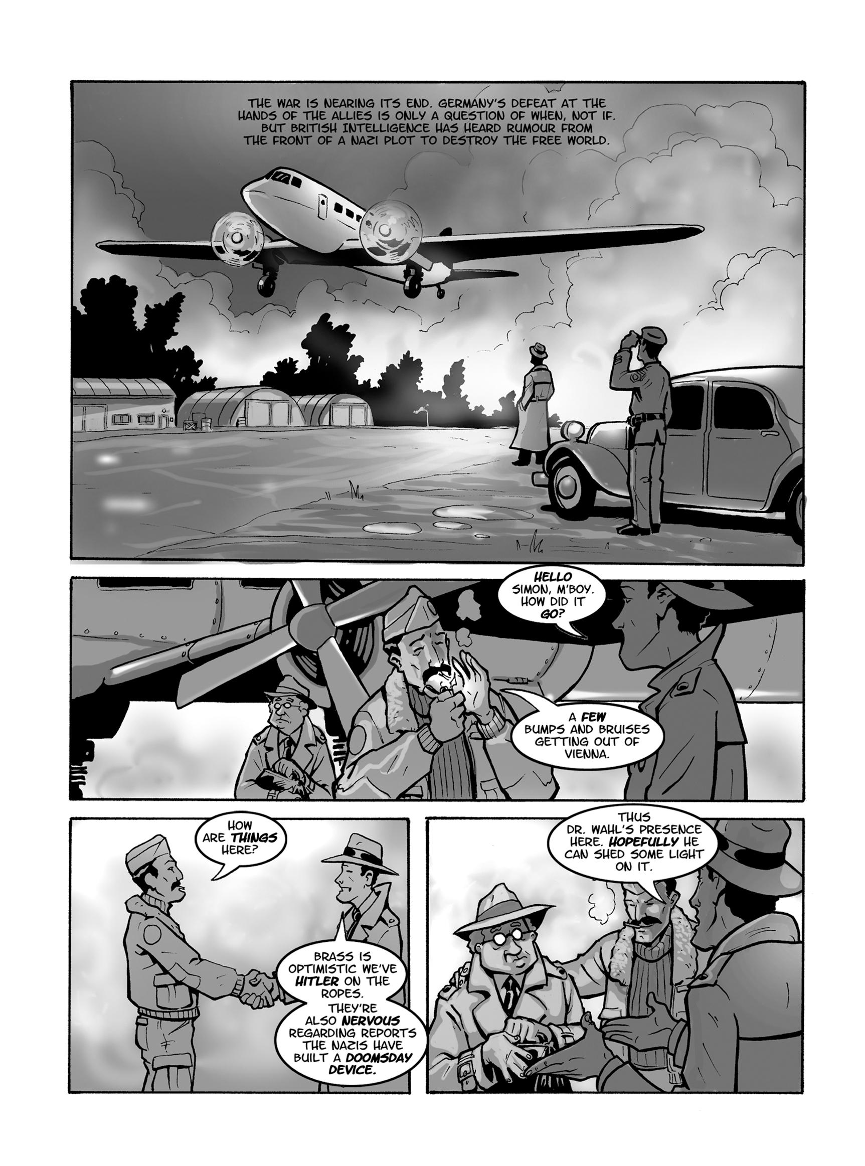 Read online FUBAR comic -  Issue #1 - 56