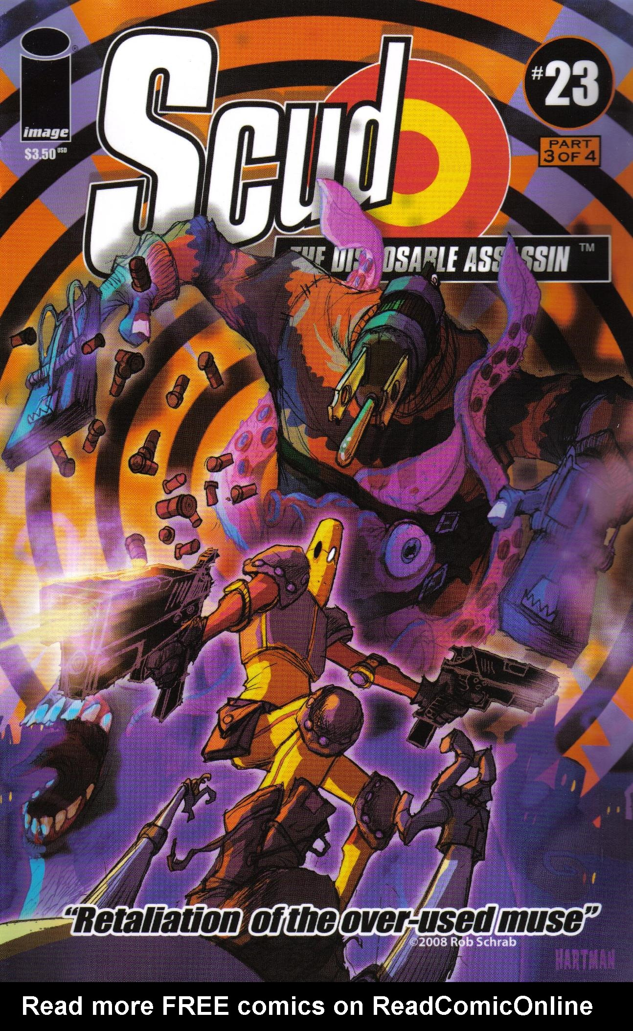 Read online Scud: The Disposable Assassin (2008) comic -  Issue #3 - 1