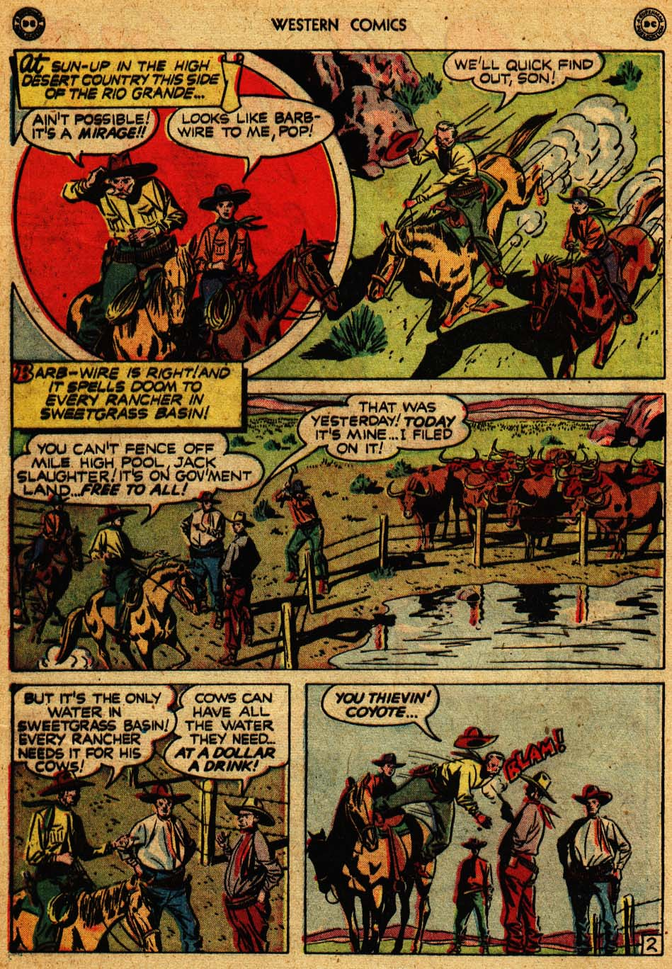 Western Comics issue 9 - Page 4
