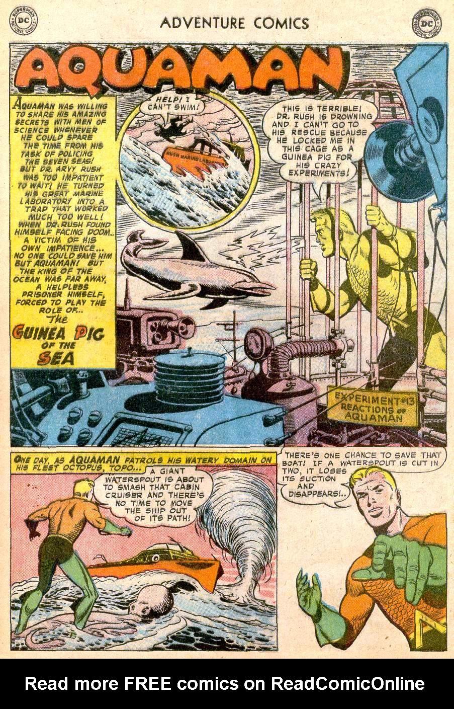Read online Adventure Comics (1938) comic -  Issue #250 - 27