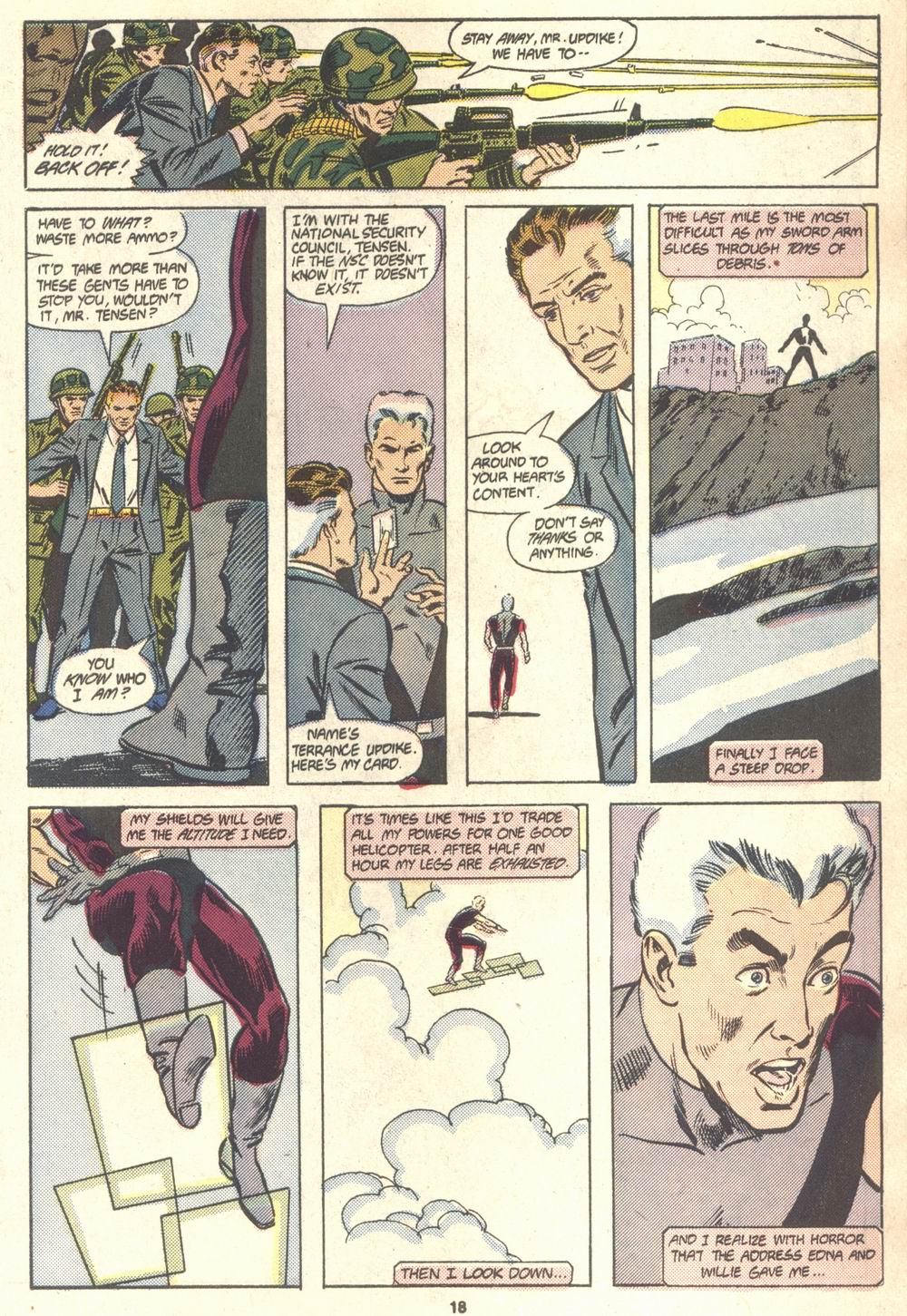 Read online Justice (1986) comic -  Issue #18 - 19