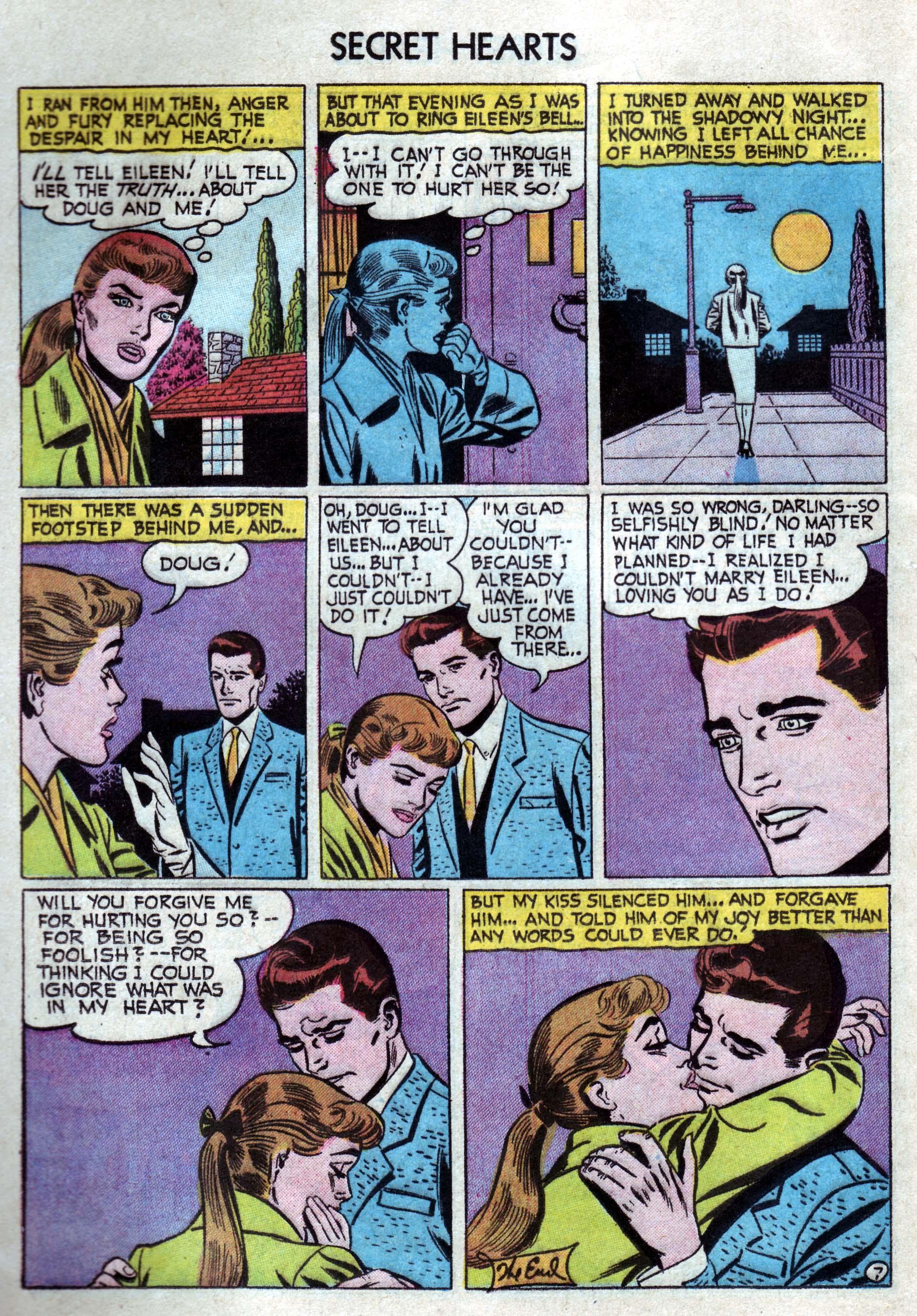 Read online Secret Hearts comic -  Issue #33 - 16