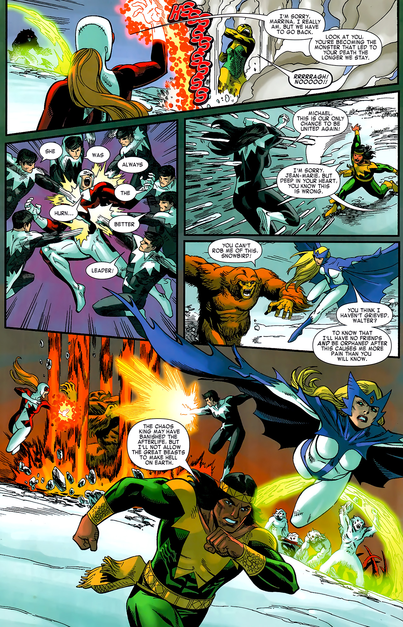 Read online Chaos War: Alpha Flight comic -  Issue # Full - 19