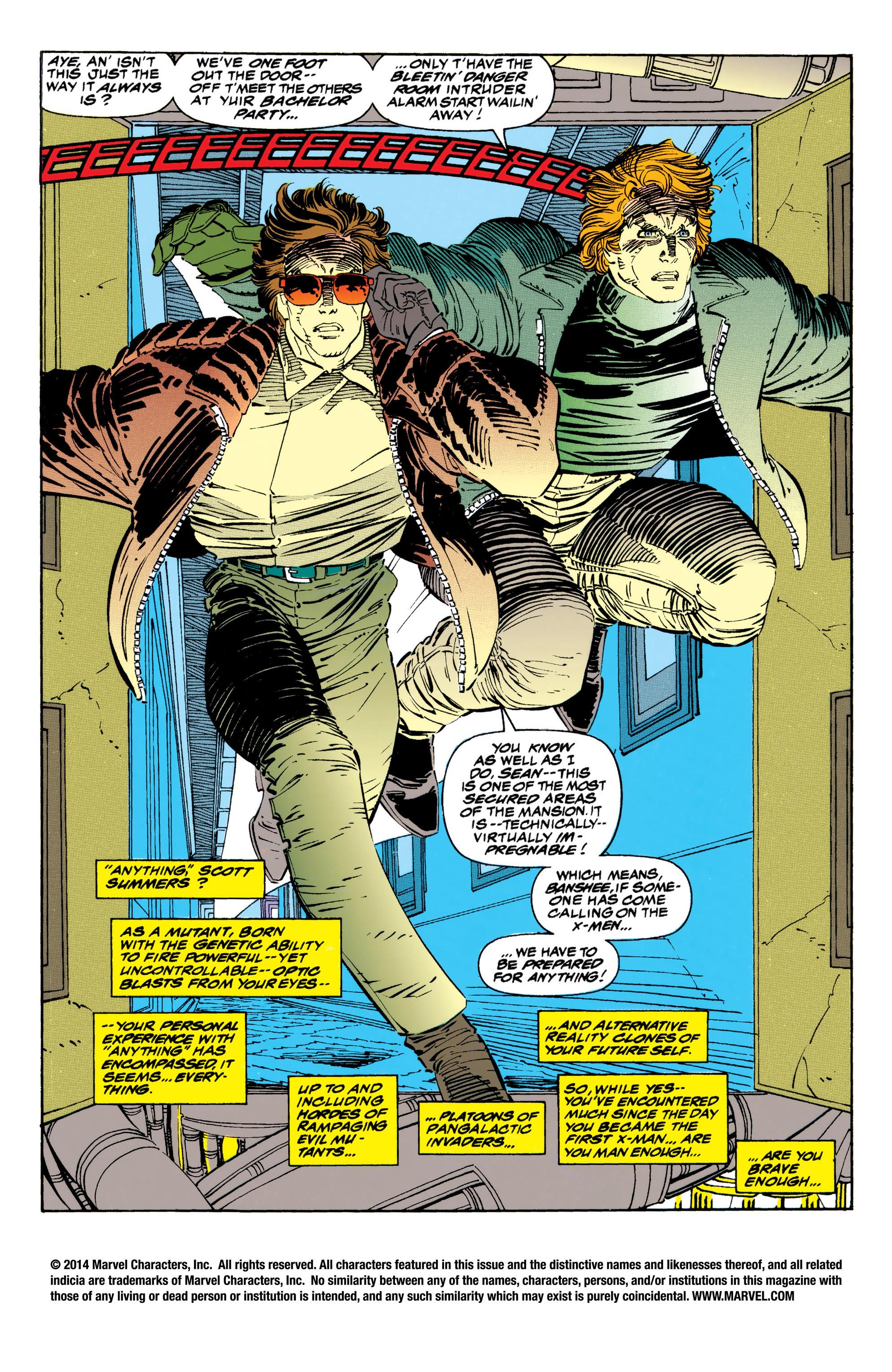 Read online Uncanny X-Men (1963) comic -  Issue #310 - 2