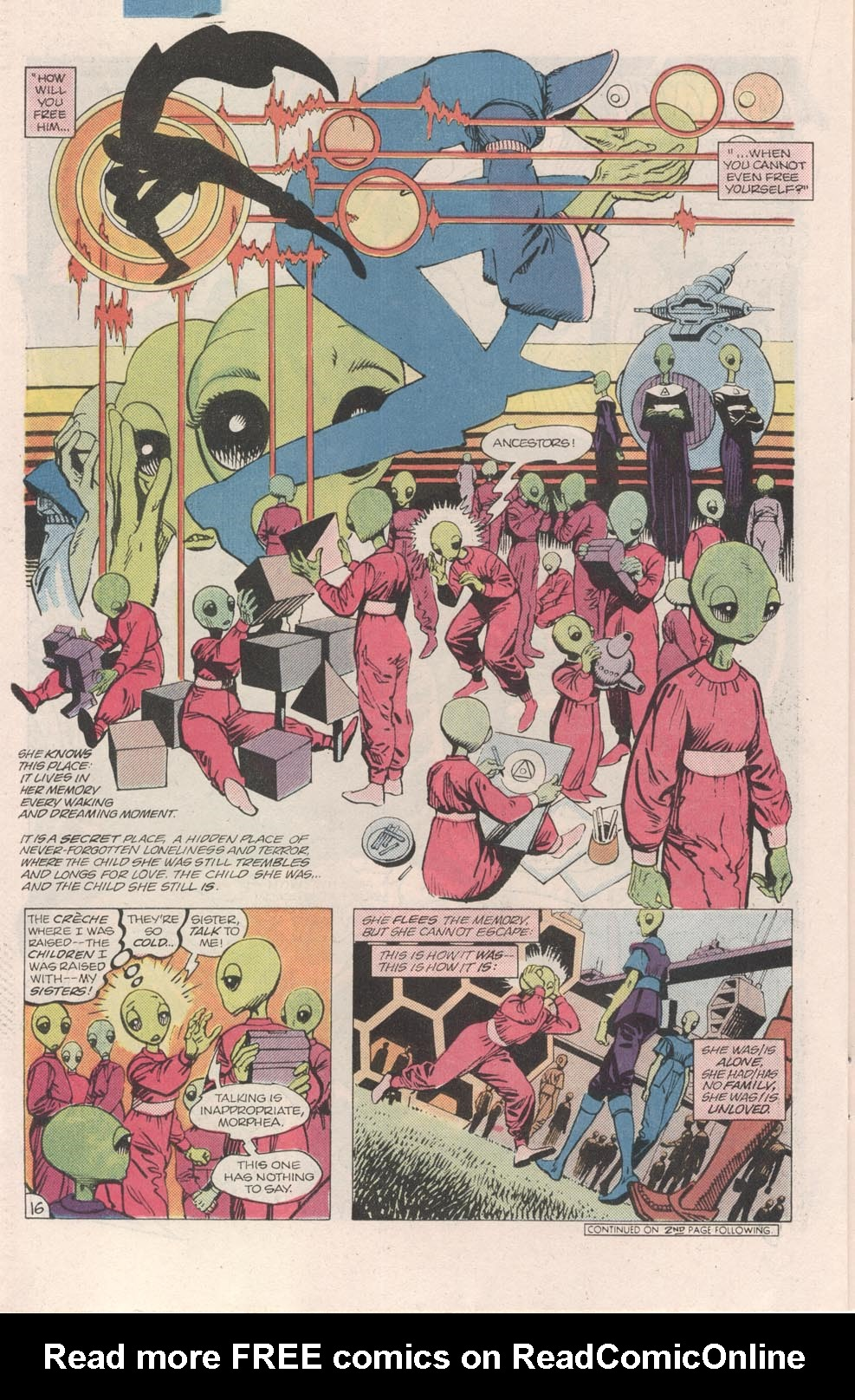 Read online Atari Force (1984) comic -  Issue #7 - 17