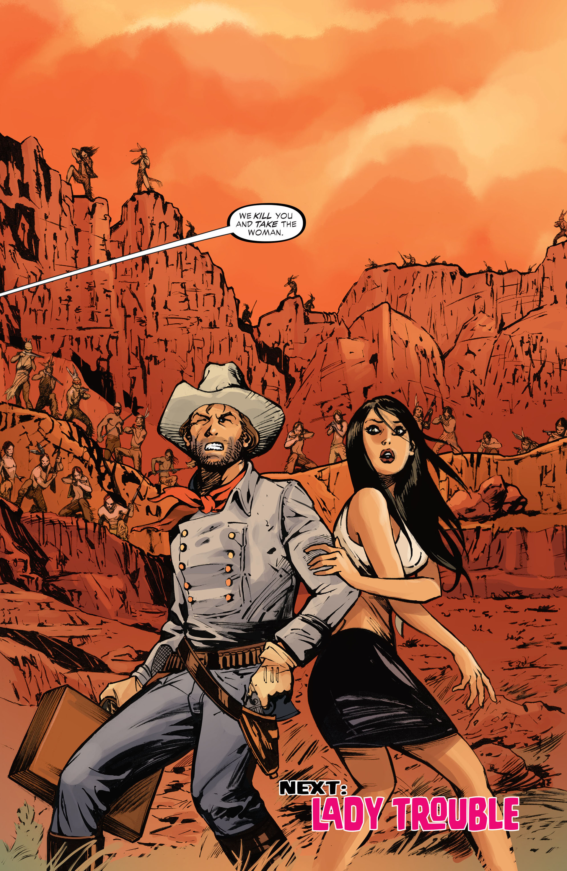 Read online All-Star Western (2011) comic -  Issue #28 - 23