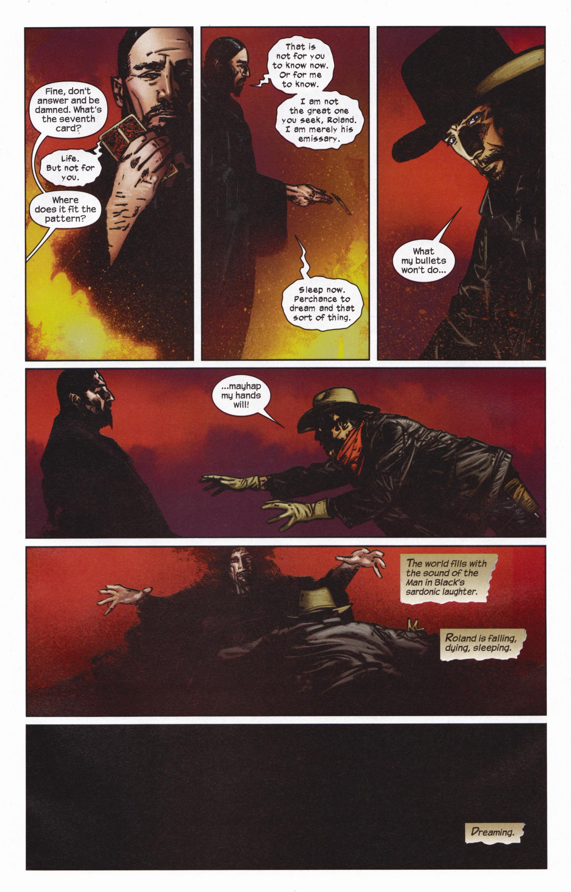 Read online Dark Tower: The Gunslinger - The Man in Black comic -  Issue #5 - 10