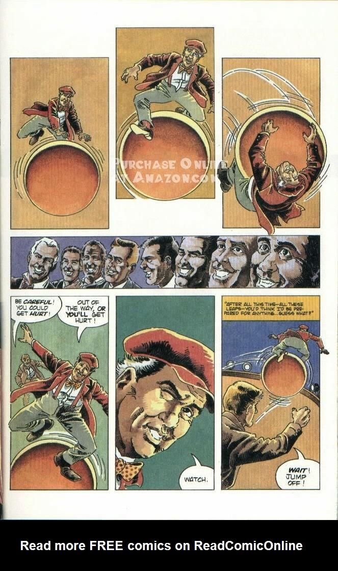 Read online Quantum Leap comic -  Issue #10 - 4