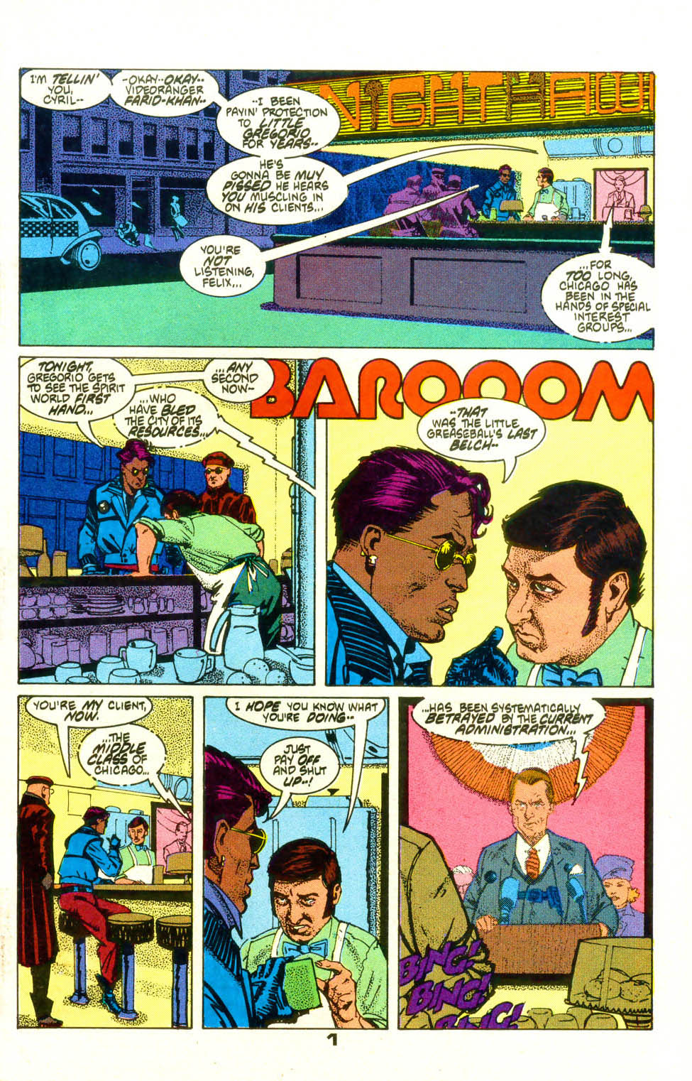 Read online American Flagg! comic -  Issue #19 - 3