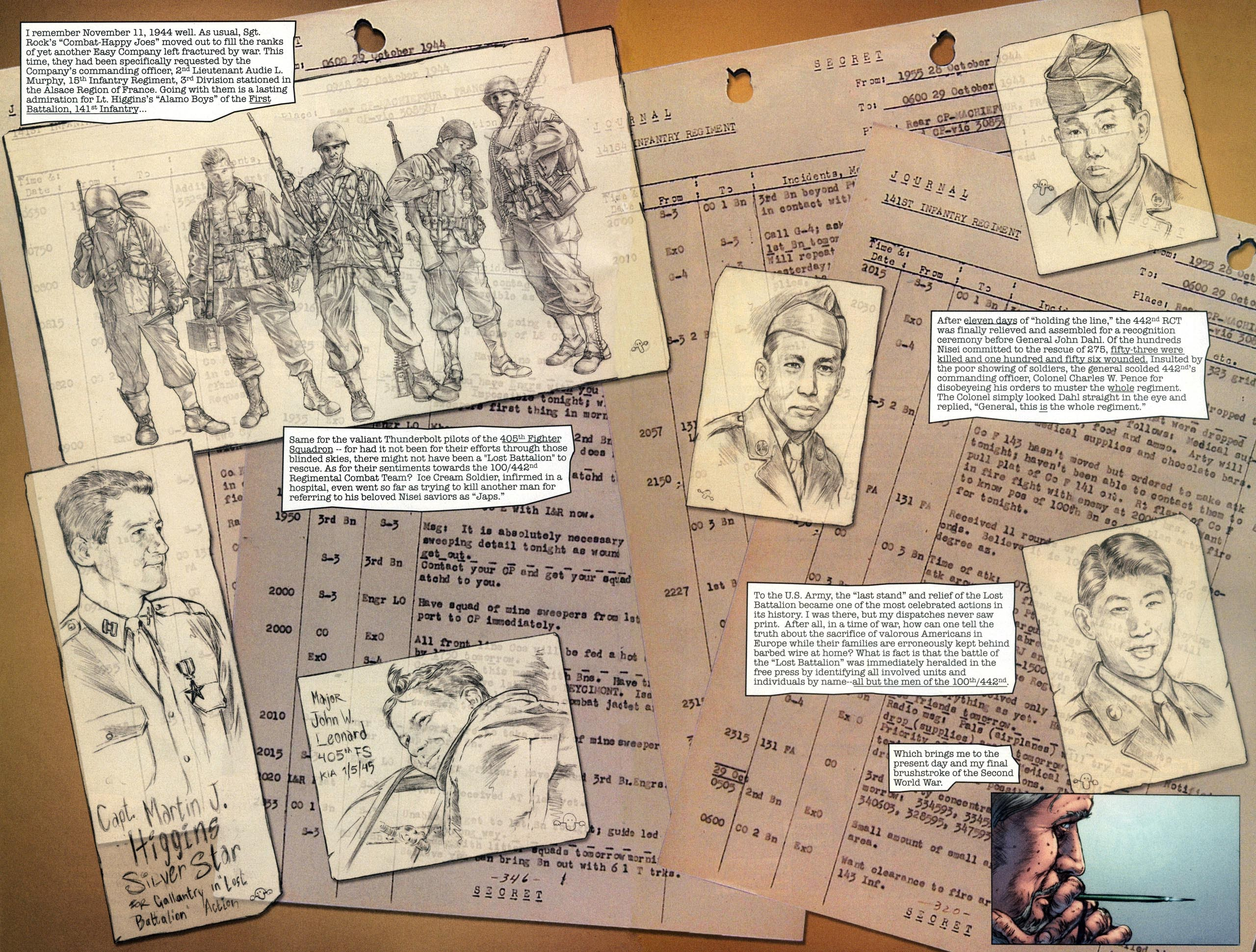 Read online Sgt. Rock: The Lost Battalion comic -  Issue #6 - 16