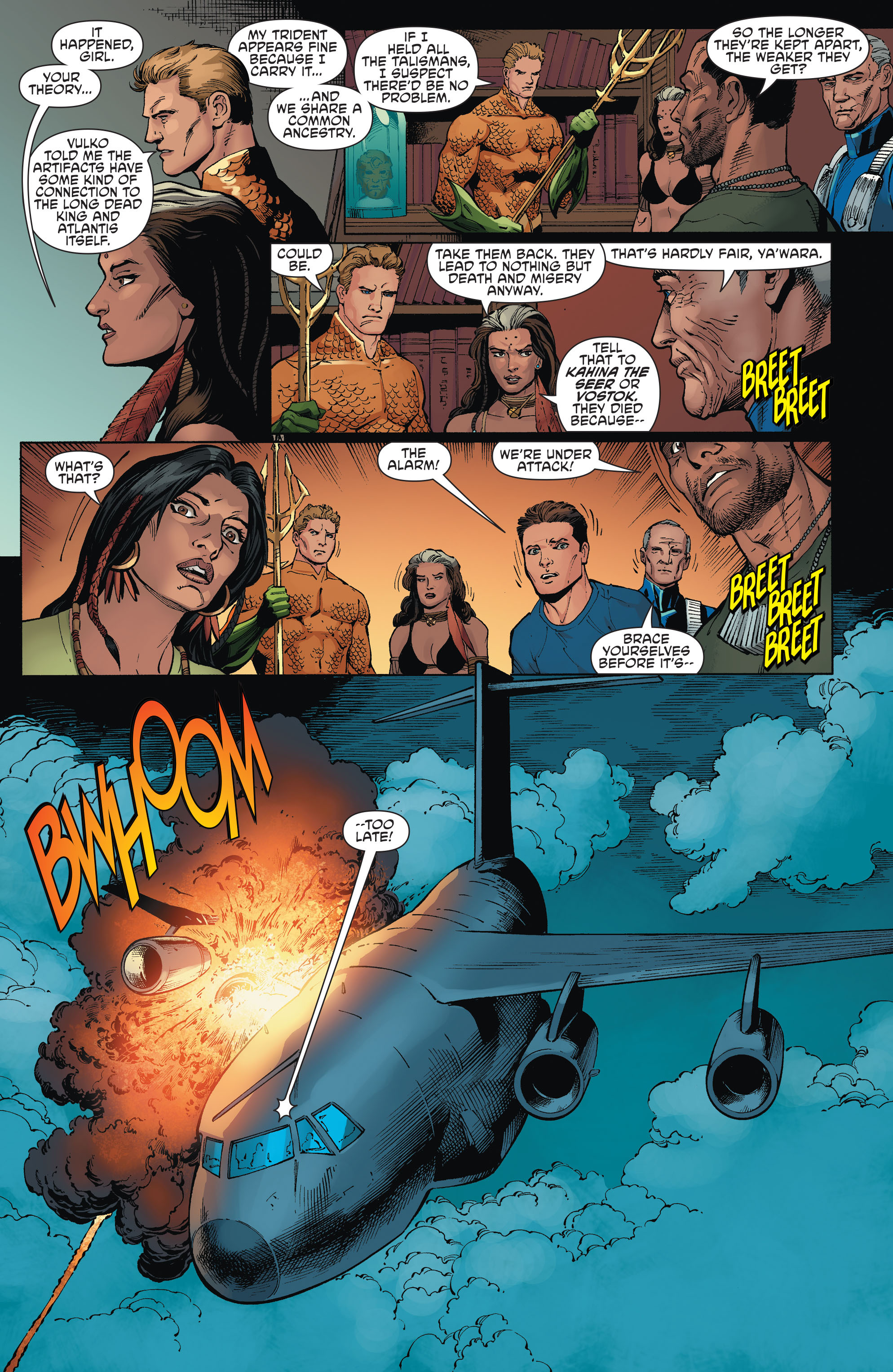 Read online Aquaman and the Others comic -  Issue #1 - 19