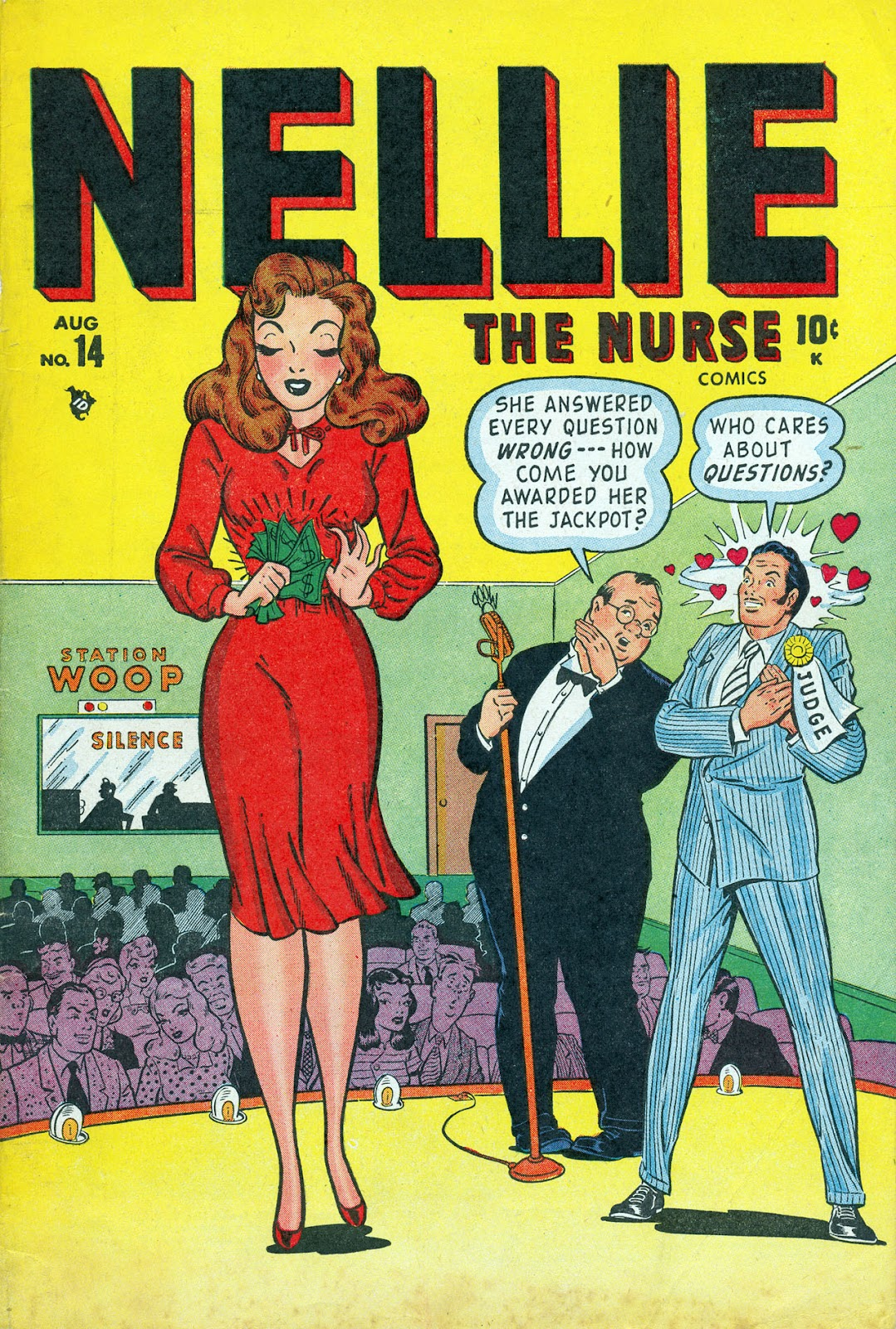 Read online Nellie The Nurse (1945) comic -  Issue #14 - 1
